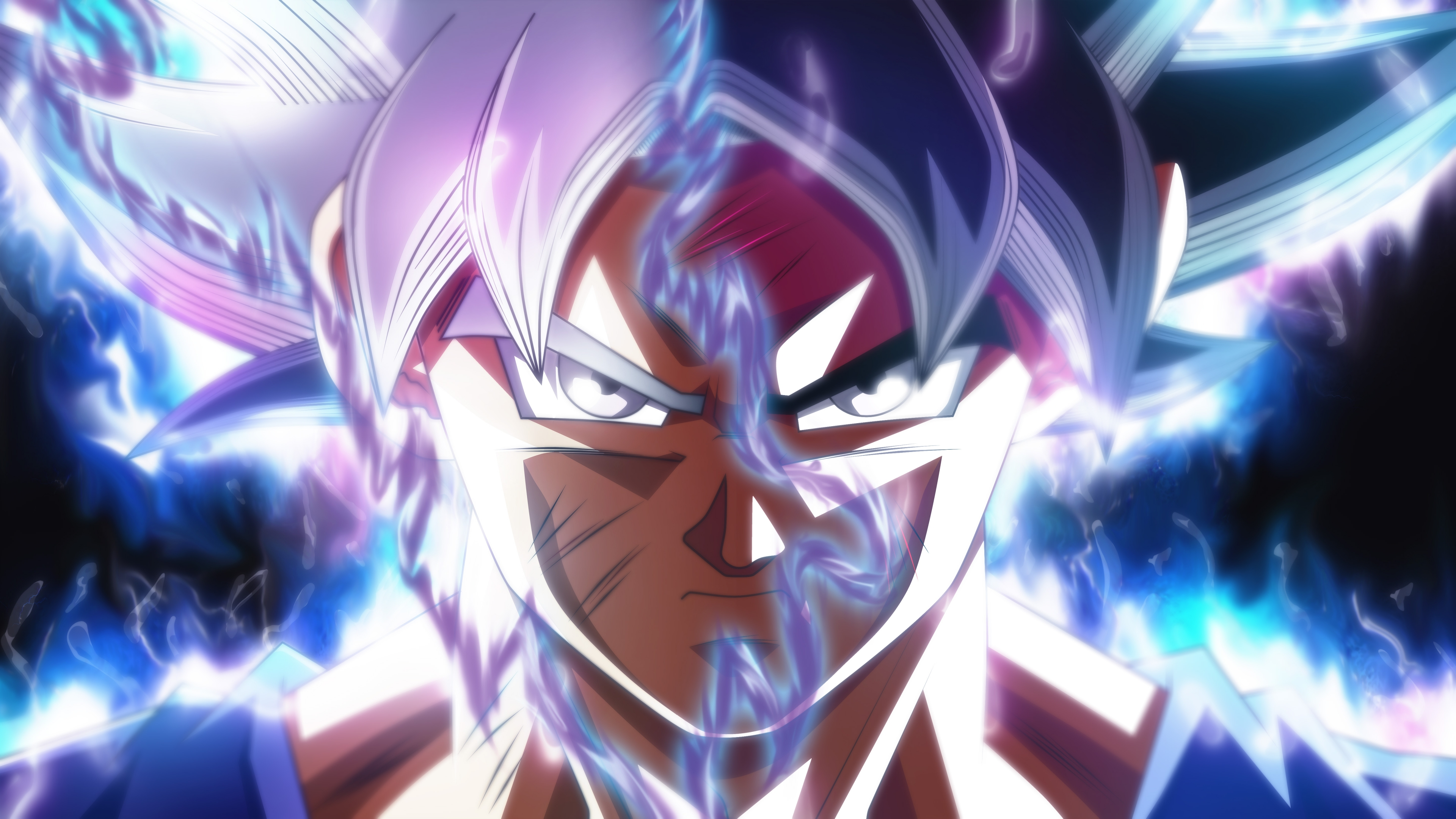 Goku Ultra Instinct Transformación Dragon Ball Super Anime Fondo De Pantalla Id 3439