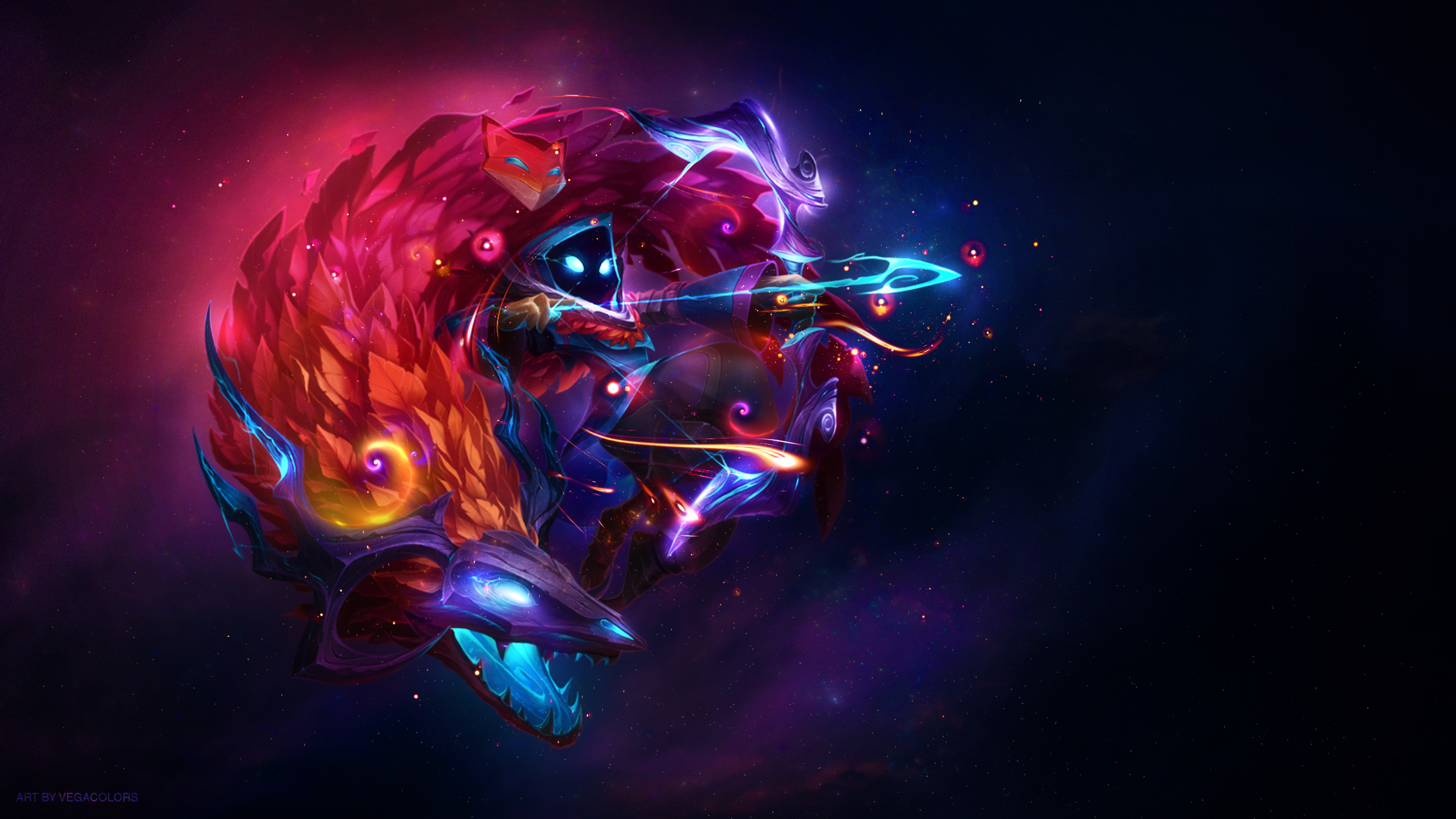 Kindred League Of Legends Wallpaper 4k Ultra Hd Id 2980