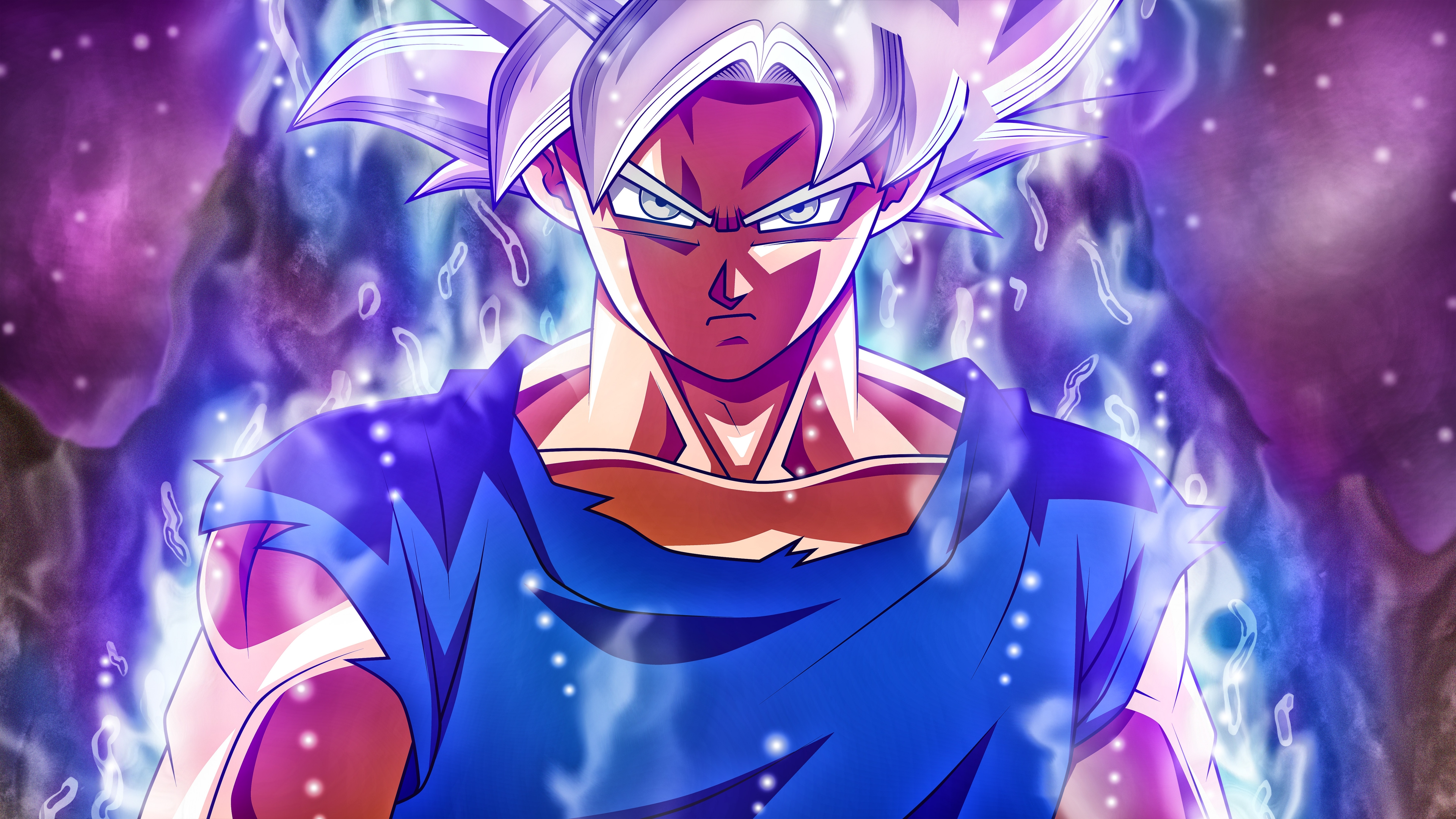 Goku Super Saiyan Silver Mastered Ultra Instinct Dragon Ball