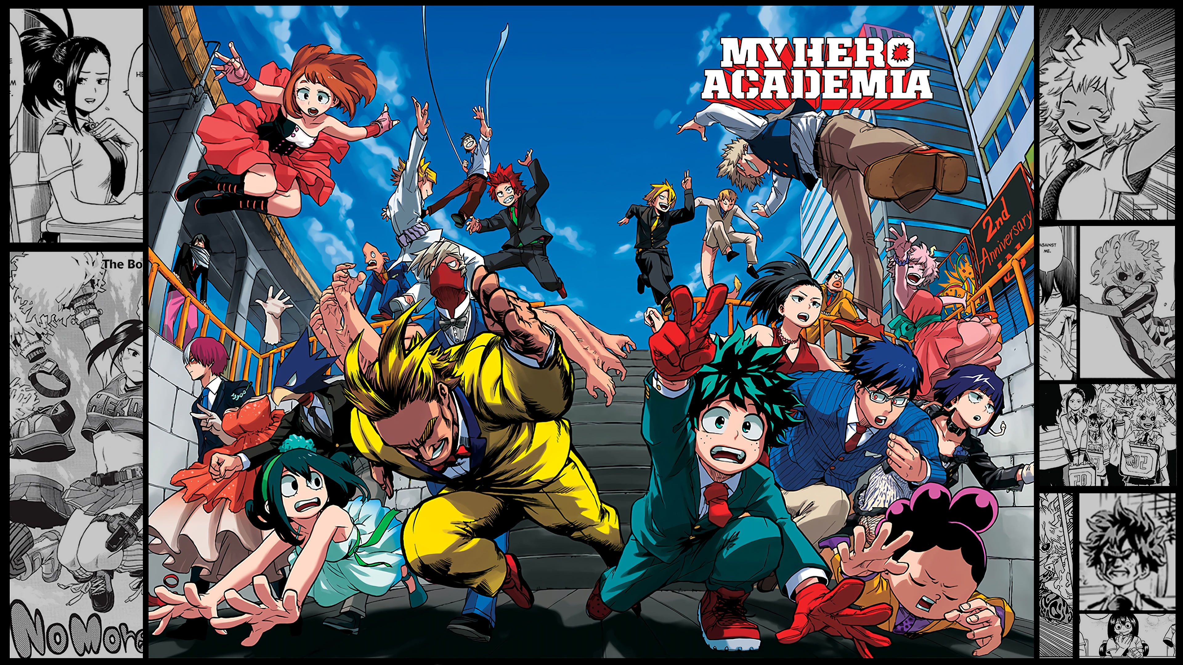 My Hero Academia Characters Cover Anime Wallpaper 4k Ultra Hd Id 3390