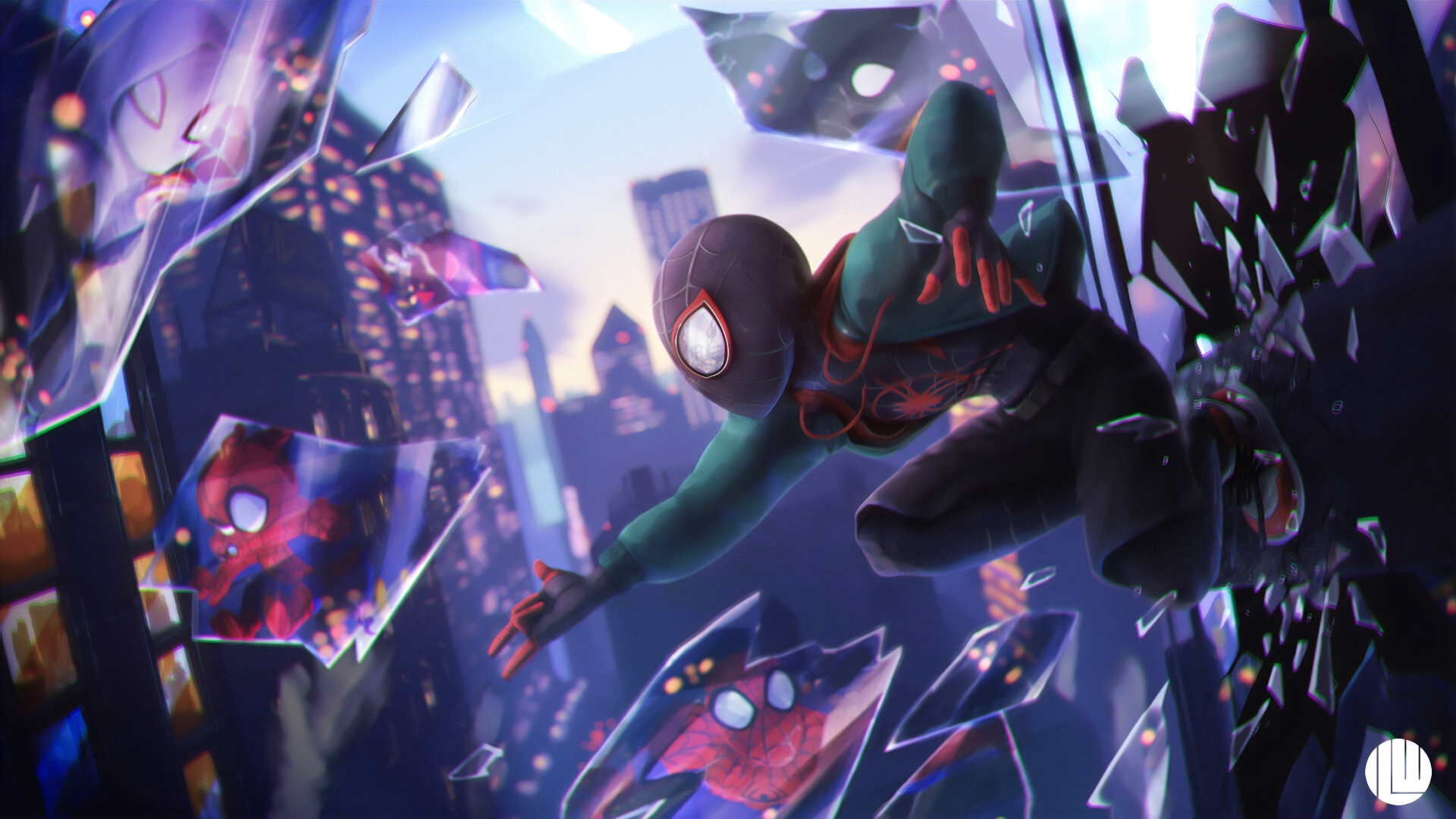 Spider Man Into The Spider Verse Wallpaper 4k Ultra Hd Id3485