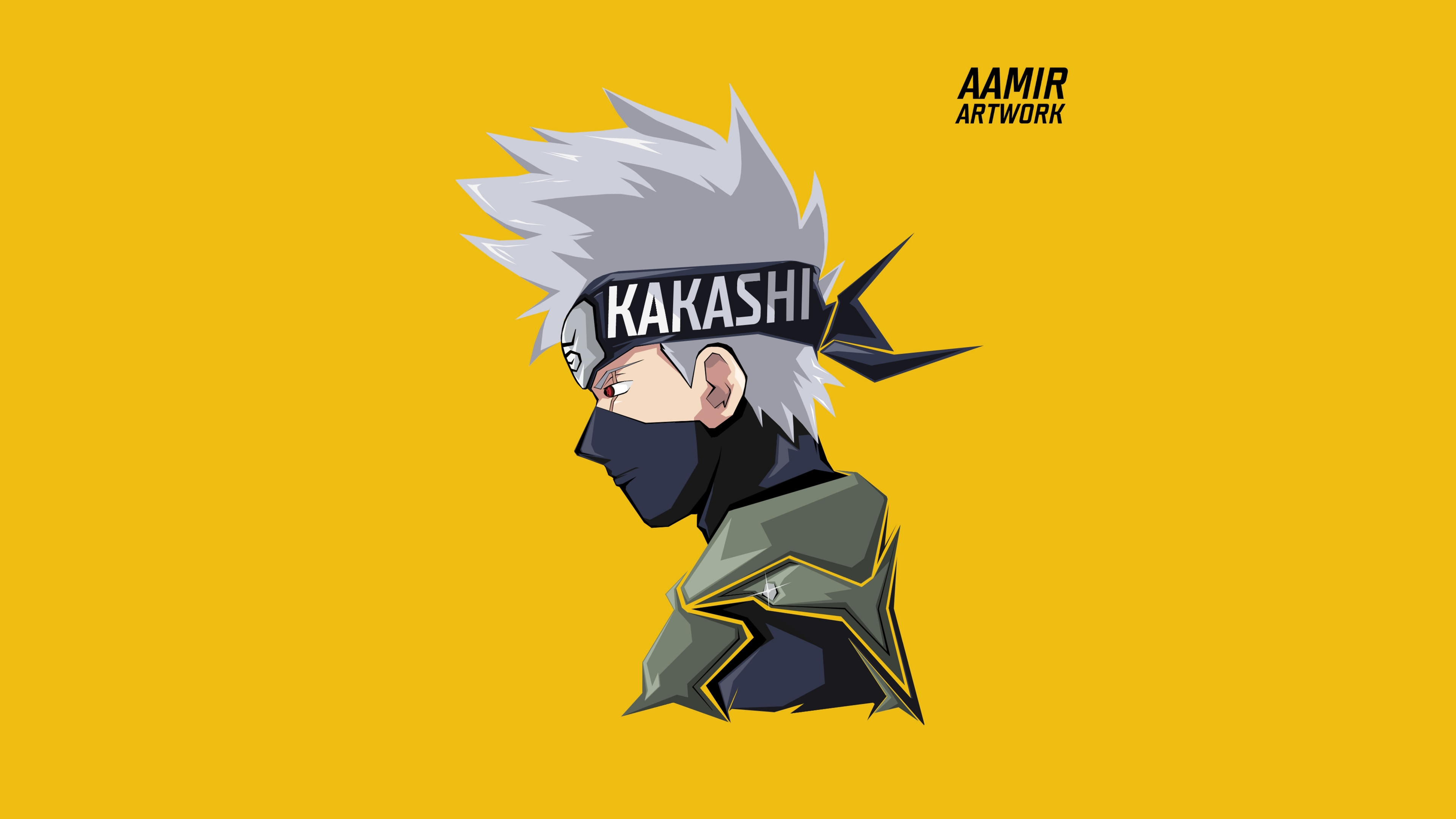 Kakashi Hatake Illustration Anime Wallpaper 8k Ultra Hd Id 3631