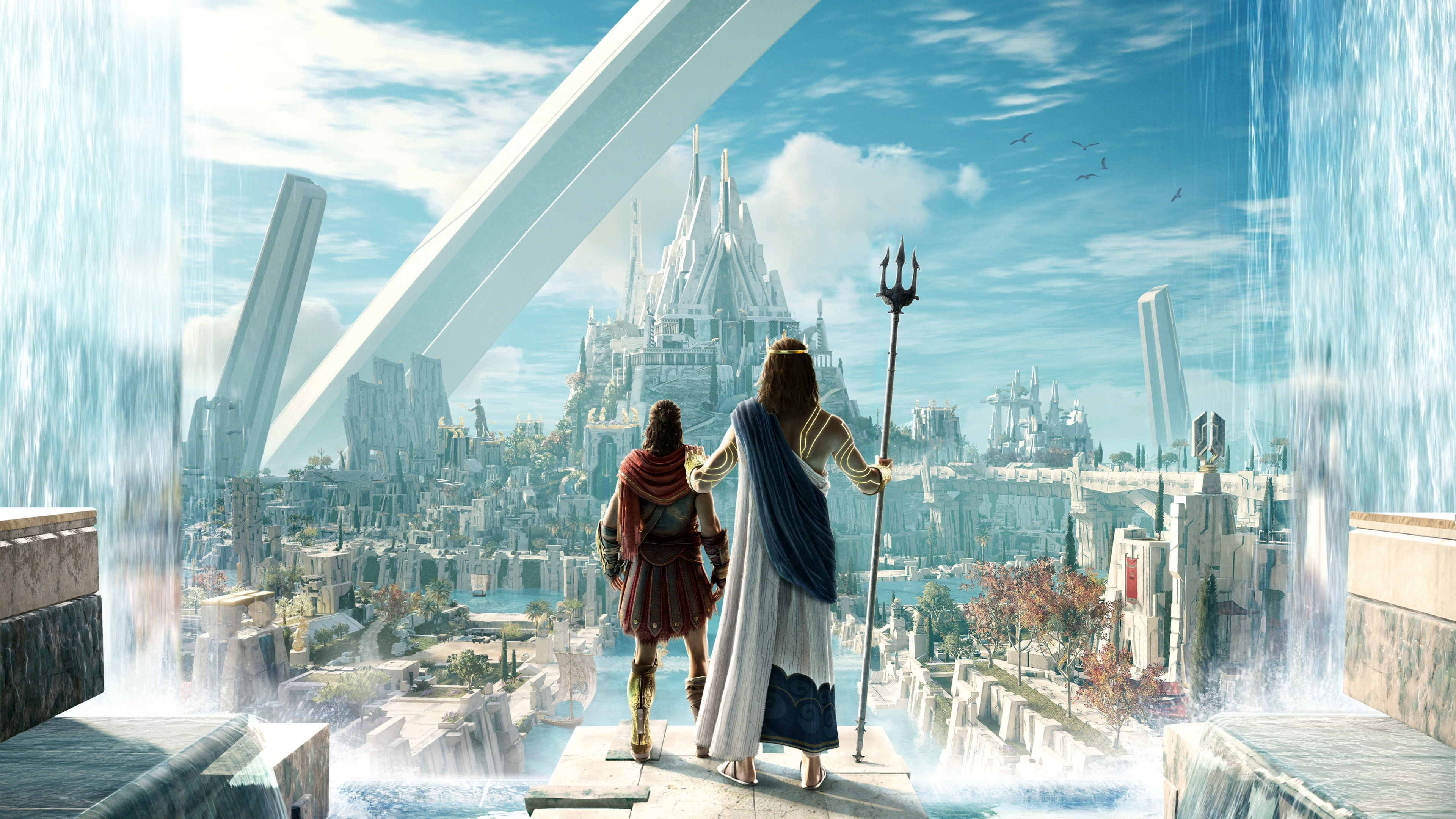 City From Assassins Creed Odyssey Judgment Of Atlantis