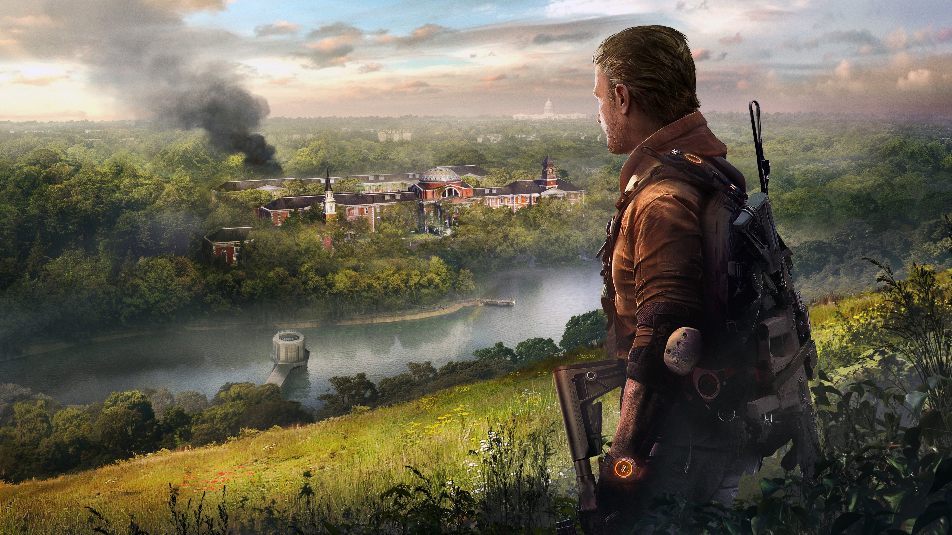 Tom Clancy S The Division 2 Episodes Wallpaper 5k Ultra Hd Id 4003