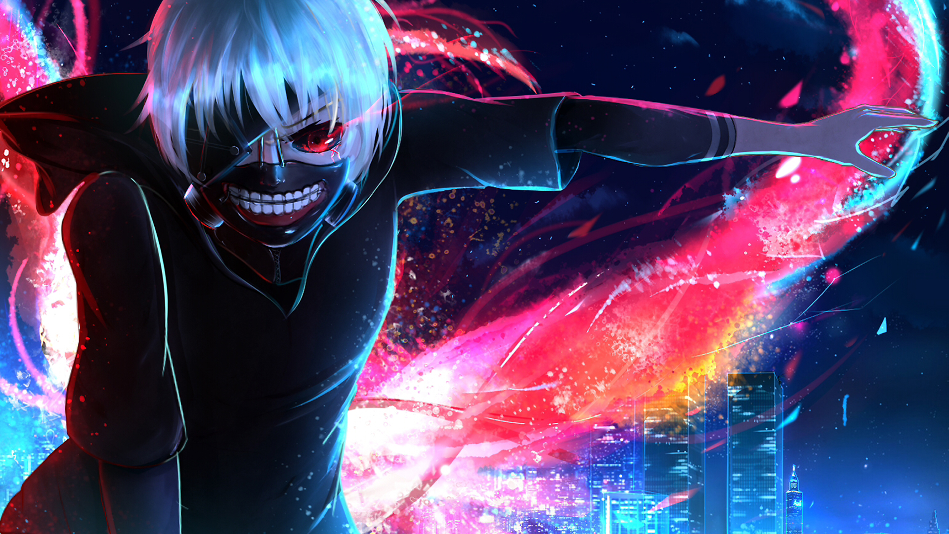 Ken Kaneki From Tokyo Ghoul Anime Wallpaper Full Hd Id4028