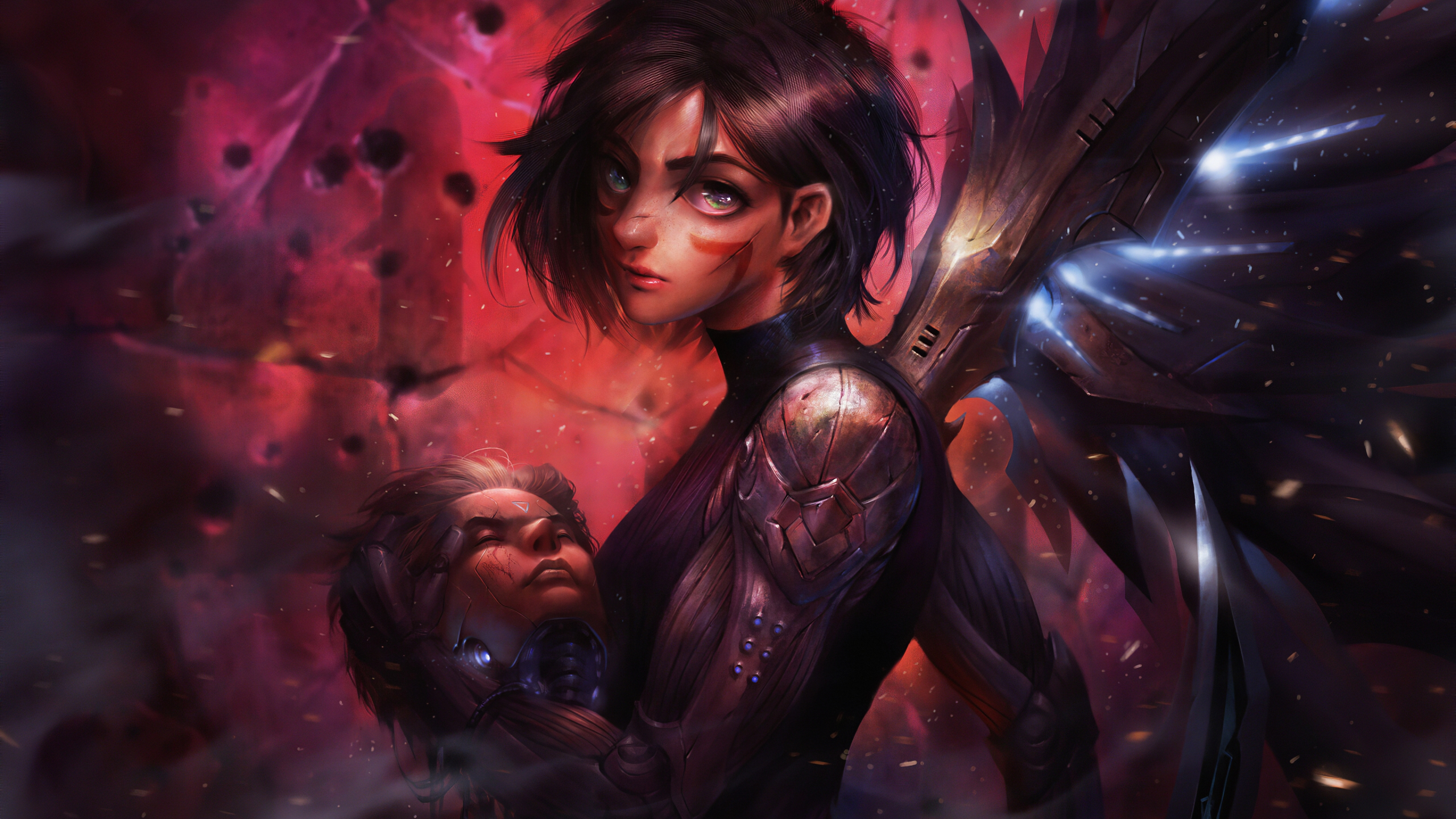 Alita Battle Angel Fanart Wallpaper 4k Ultra Hd Id 4845