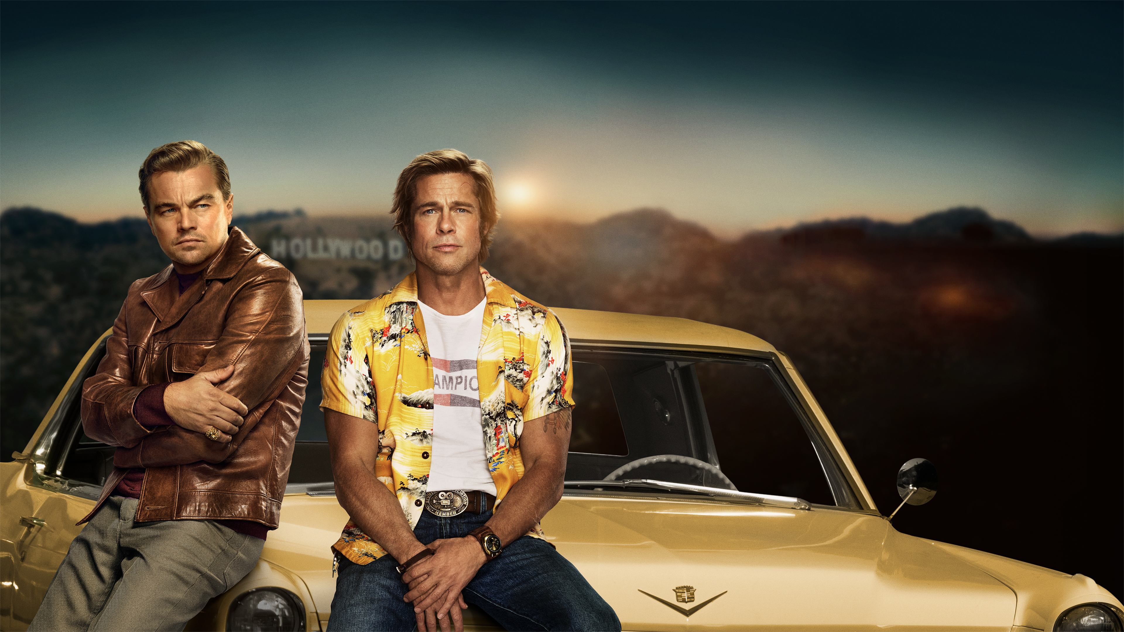 Characters From Once Upon A Time In Hollywood Wallpaper 4k Ultra