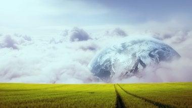 Planeta en el campo