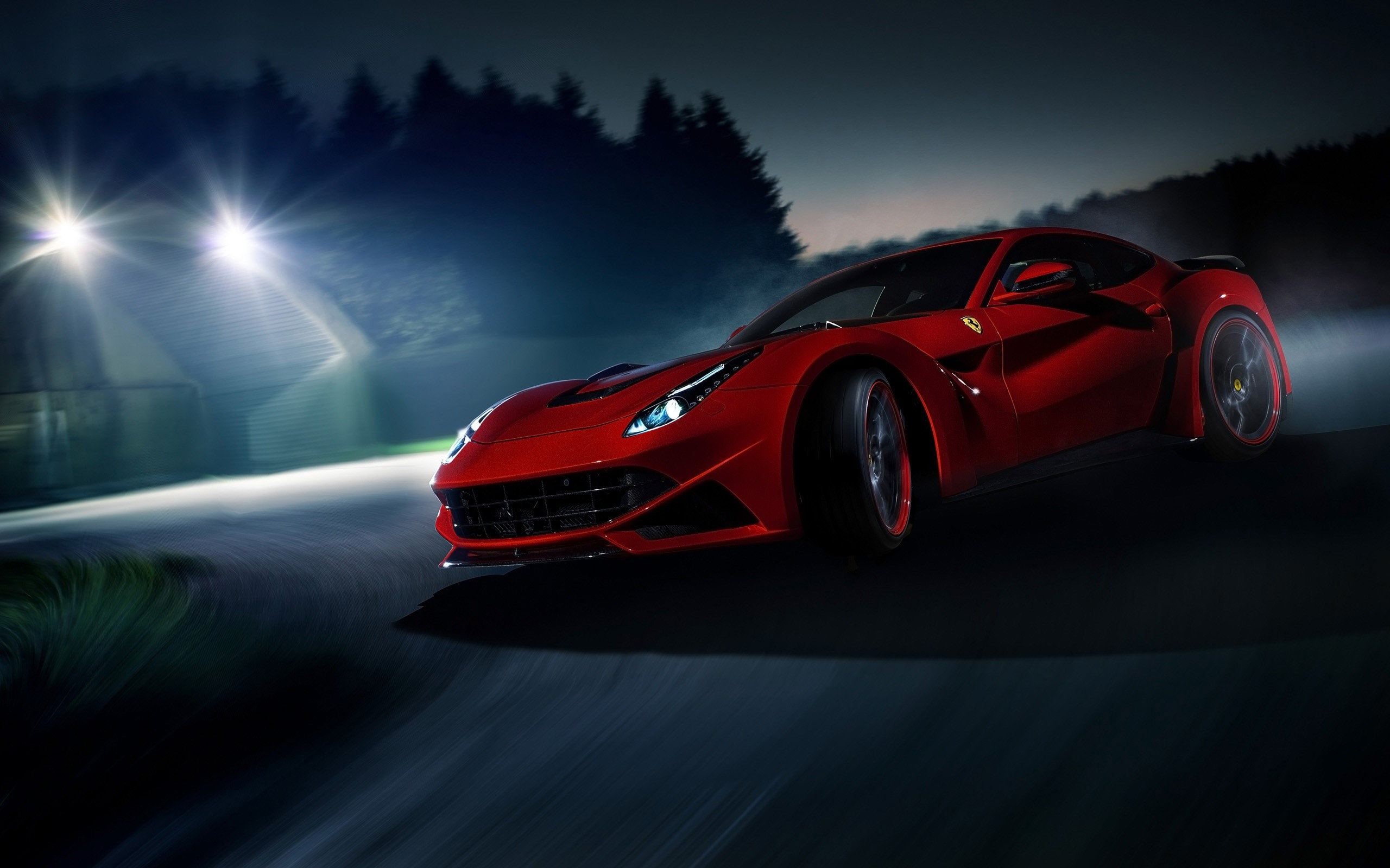 Wallpaper 2014 Novitec Rosso Ferrari F12 Berlinetta n largo Images