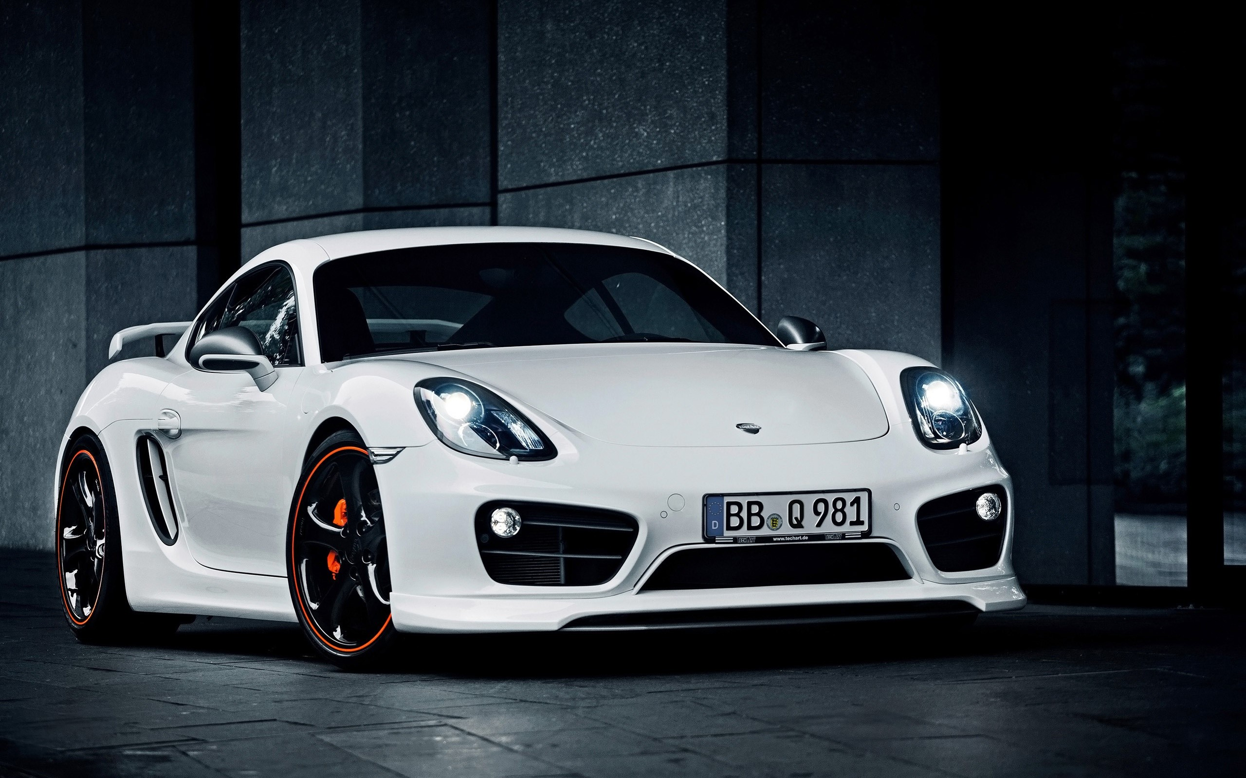 Wallpaper 2014 Techart Porsche Cayman