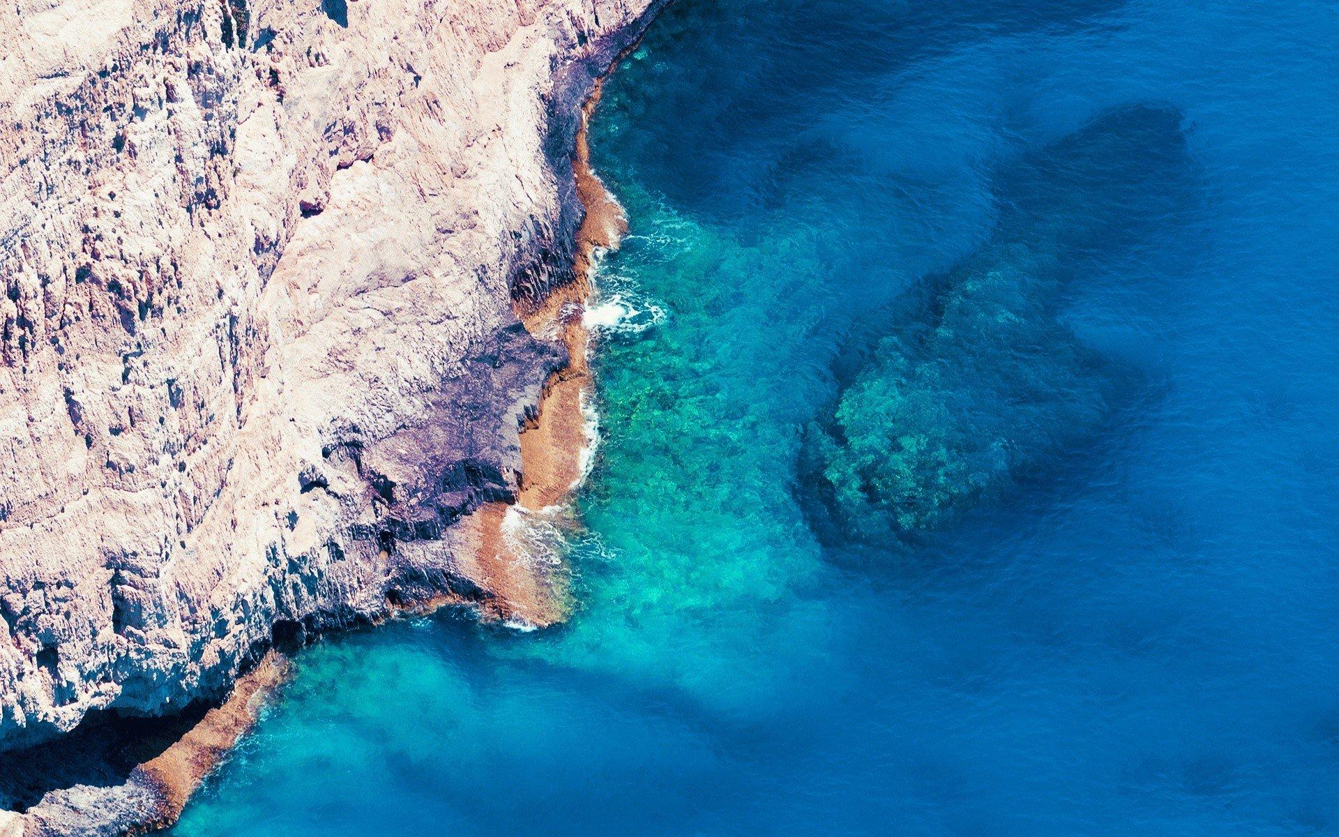 Fondo de pantalla de Acantilado en el mar Imágenes