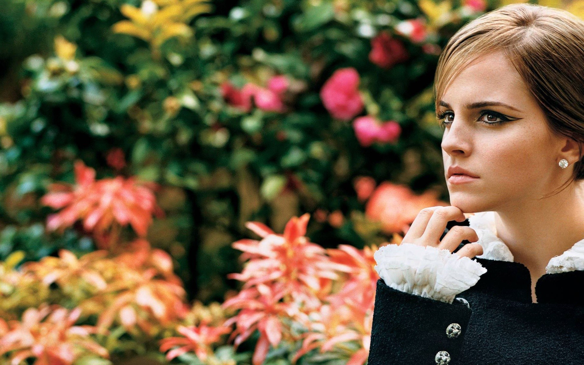 Wallpaper Actress Emma Watson