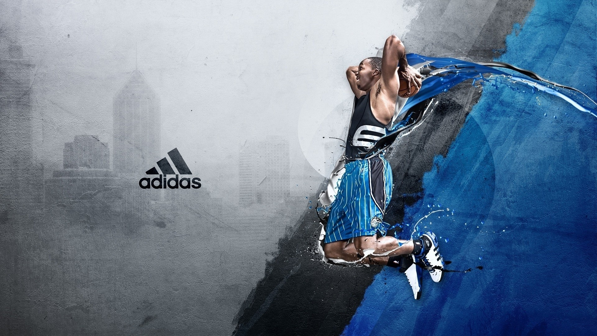 Wallpaper Adidas NBA basketball