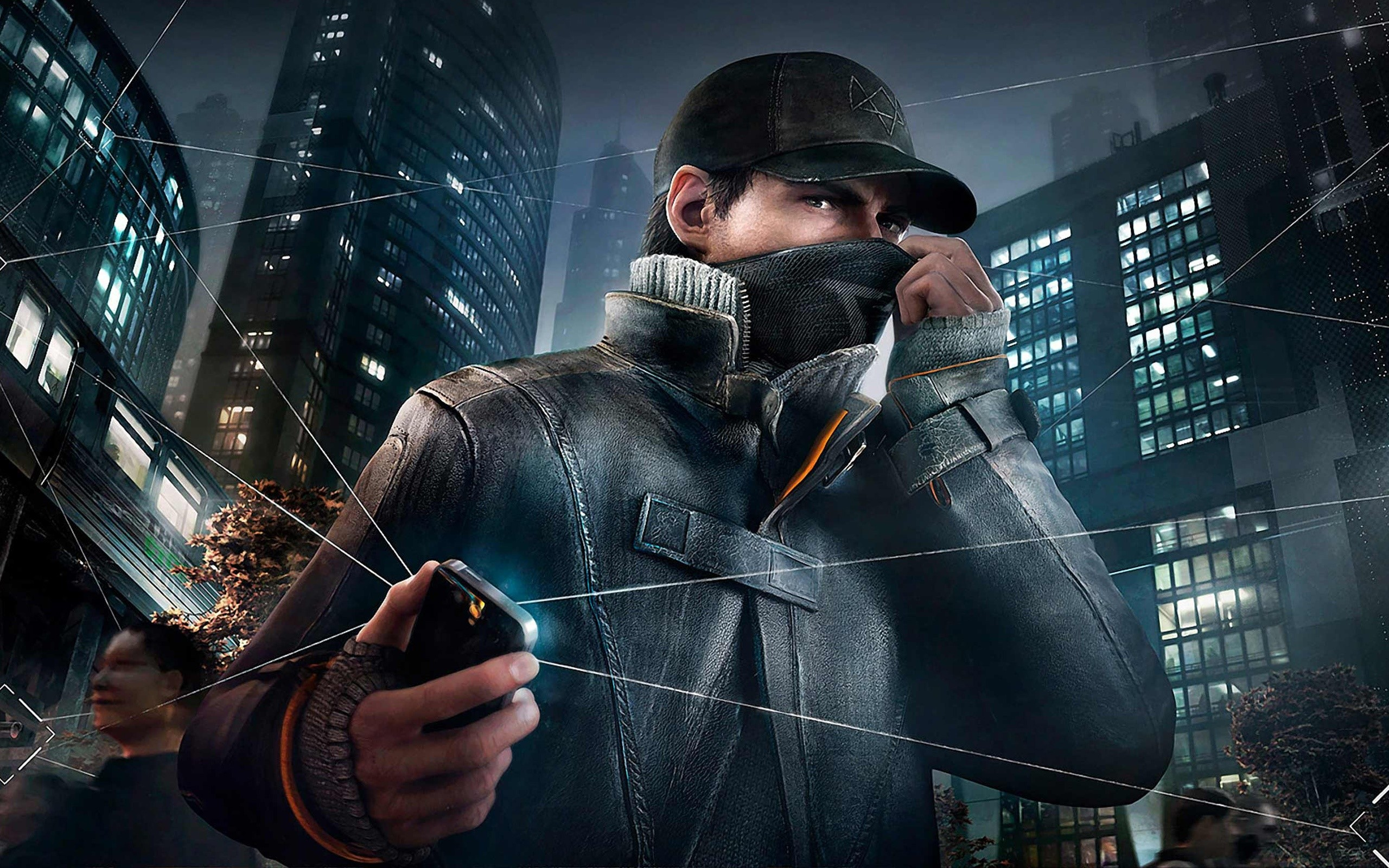 Wallpaper Aiden Pearce in Watch Dogs