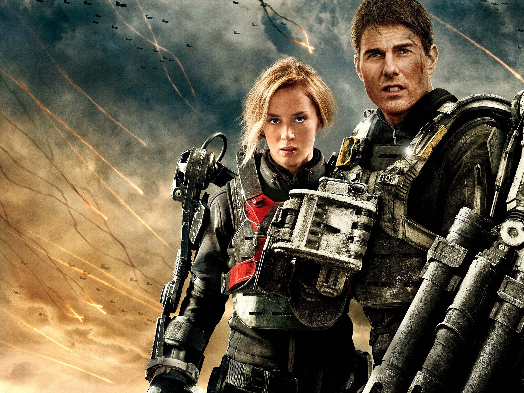 Wallpaper At the edge of tomorrow