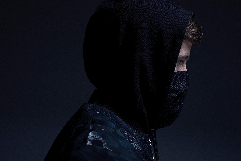 Fondos de pantalla Alan Walker con máscara