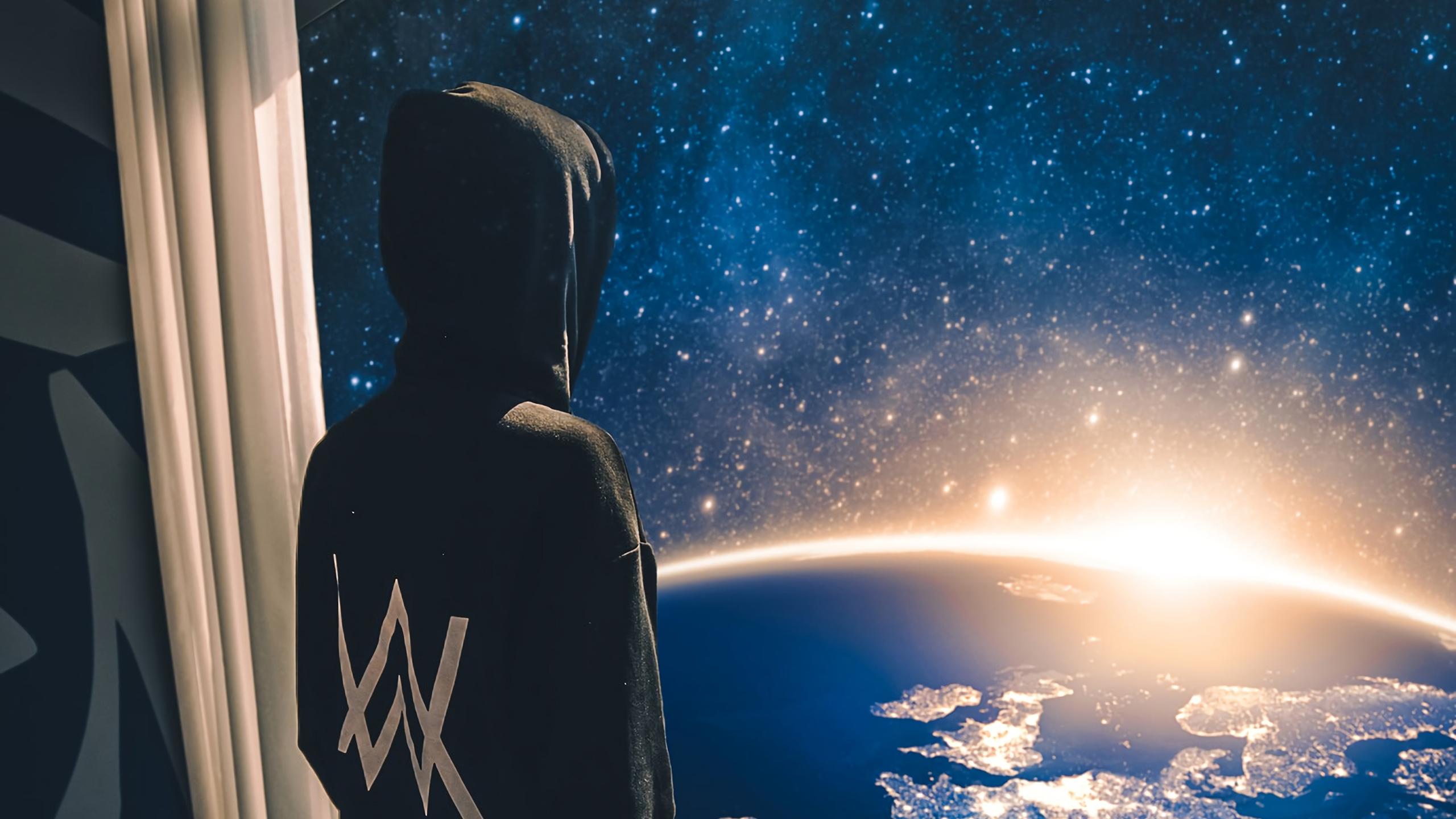 Fondos de pantalla Alan Walker vista al universo