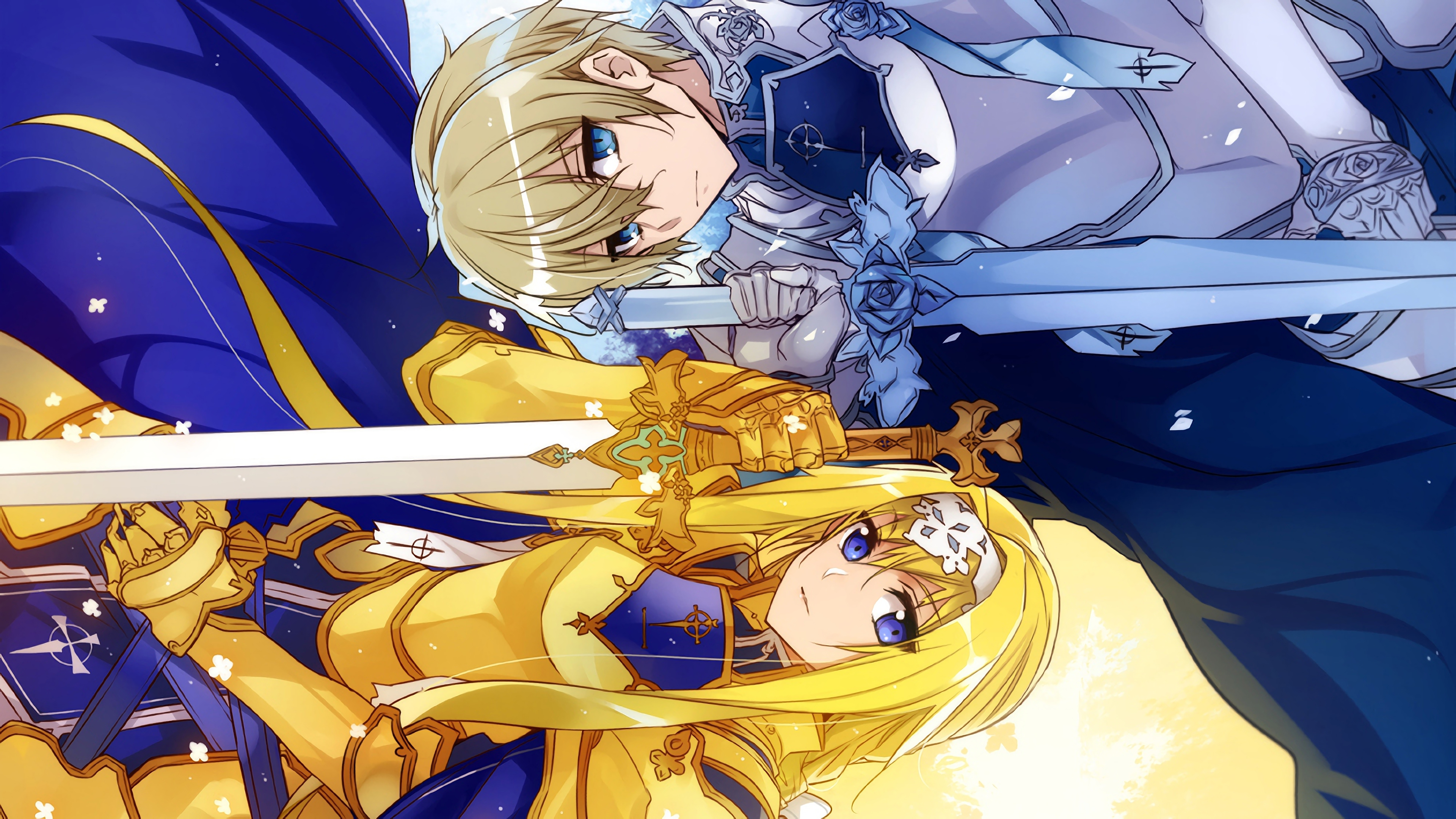 Fondos de pantalla Anime Alice y Eugeo Sao de Alicization