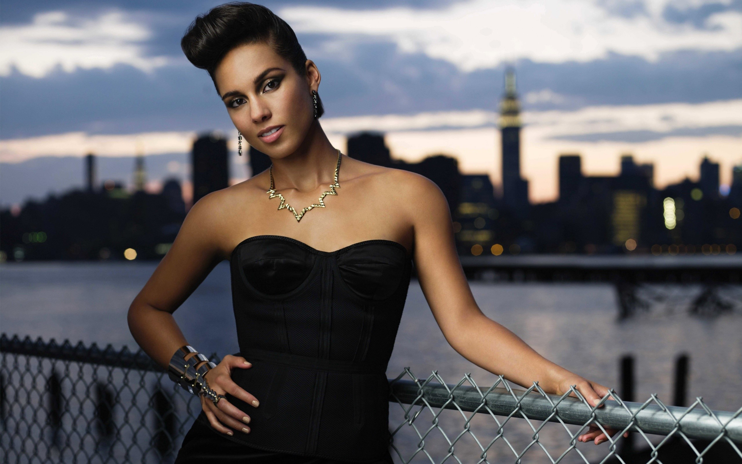 Wallpaper Alicia Keys in New York