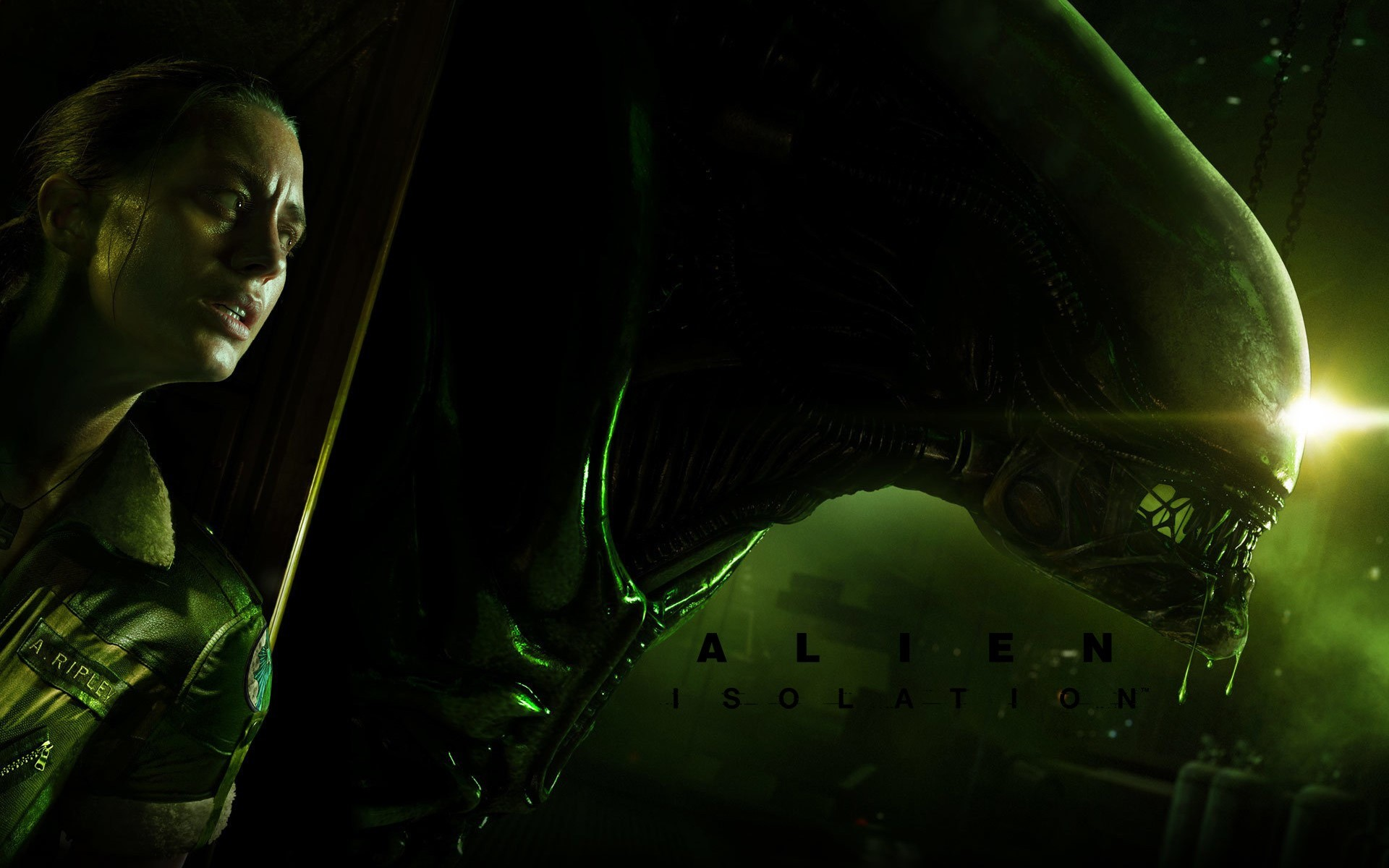 Wallpaper Alien Isolation