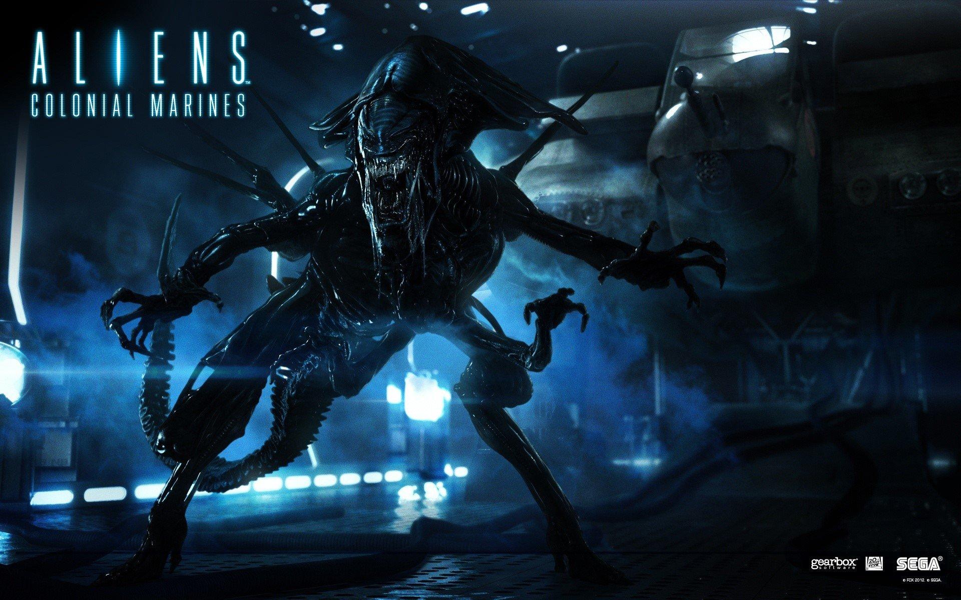 Fondos de pantalla Aliens colonial marines