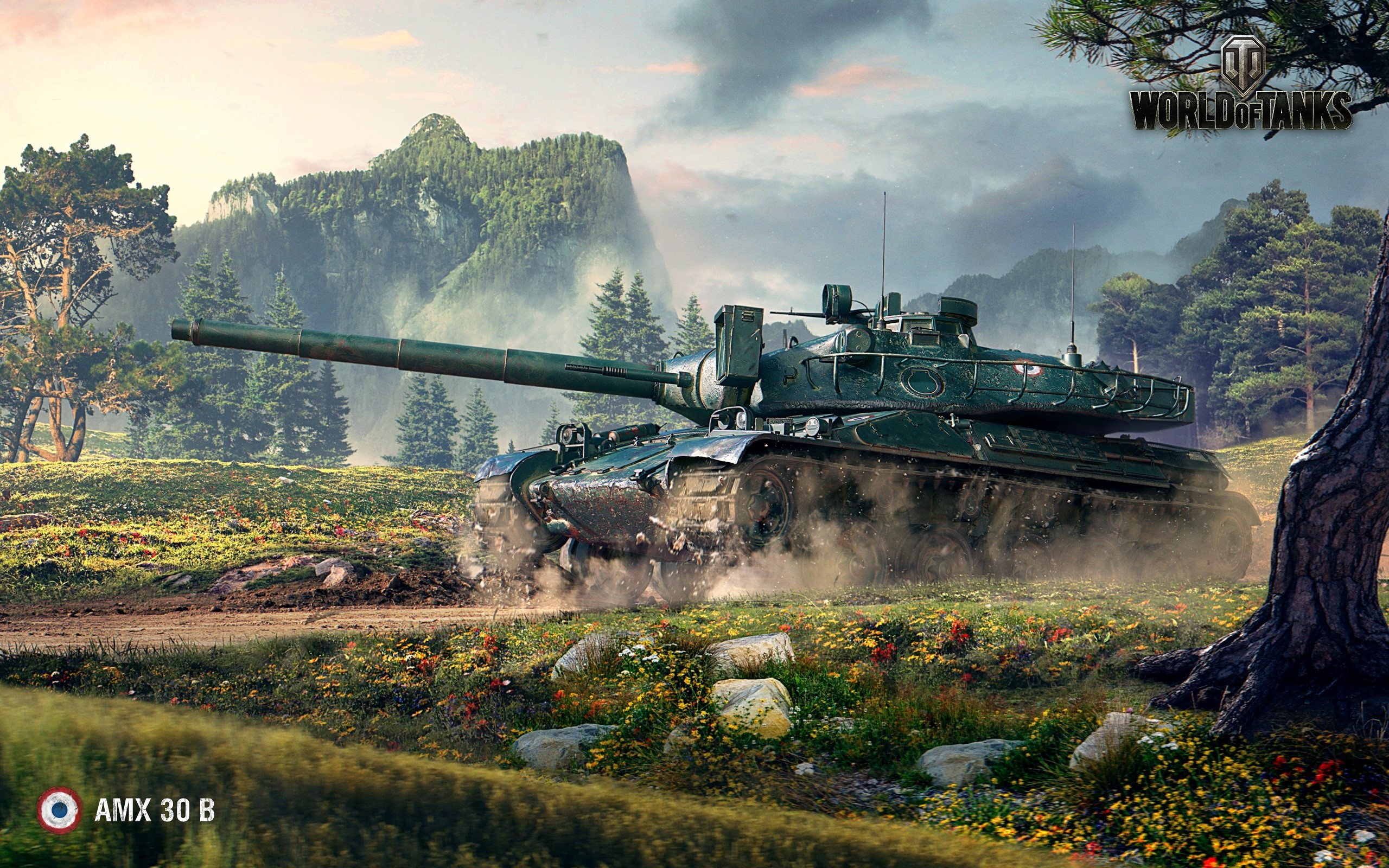 Wallpaper AMX 30 World of tanks