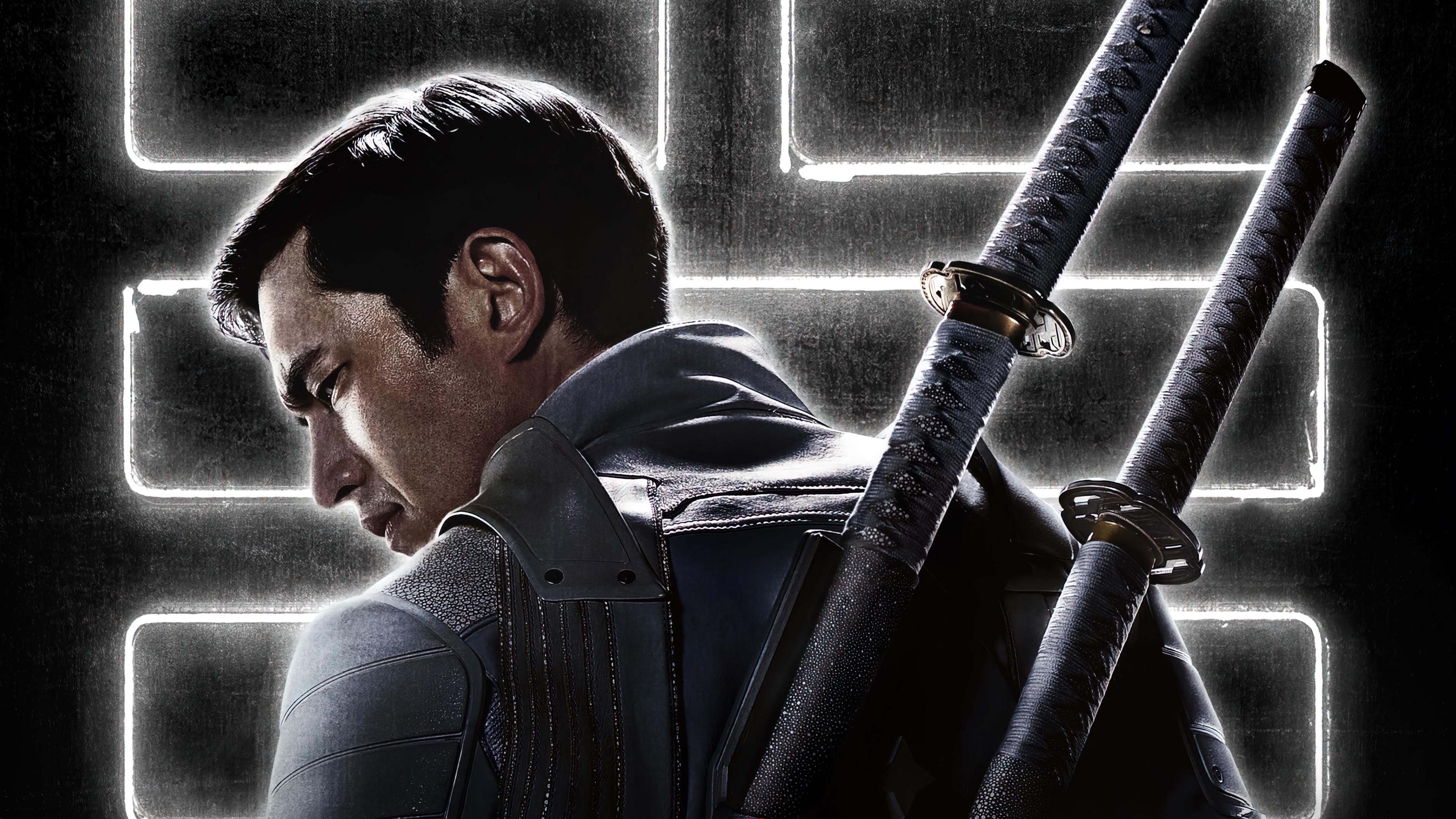 Wallpaper Andrew Koji in Snake Eyes Movie