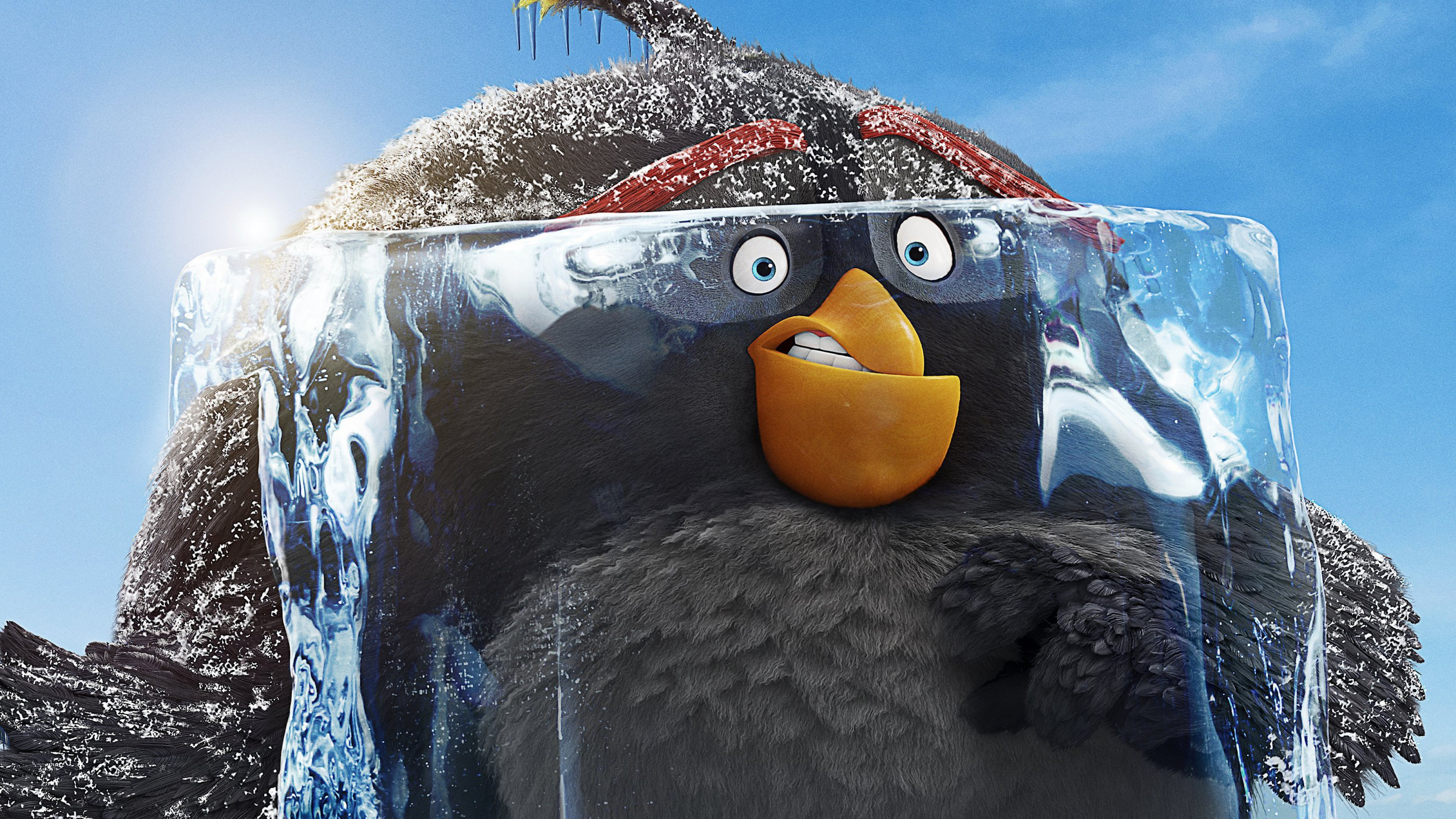 Wallpaper The Angry Birds Movie 2