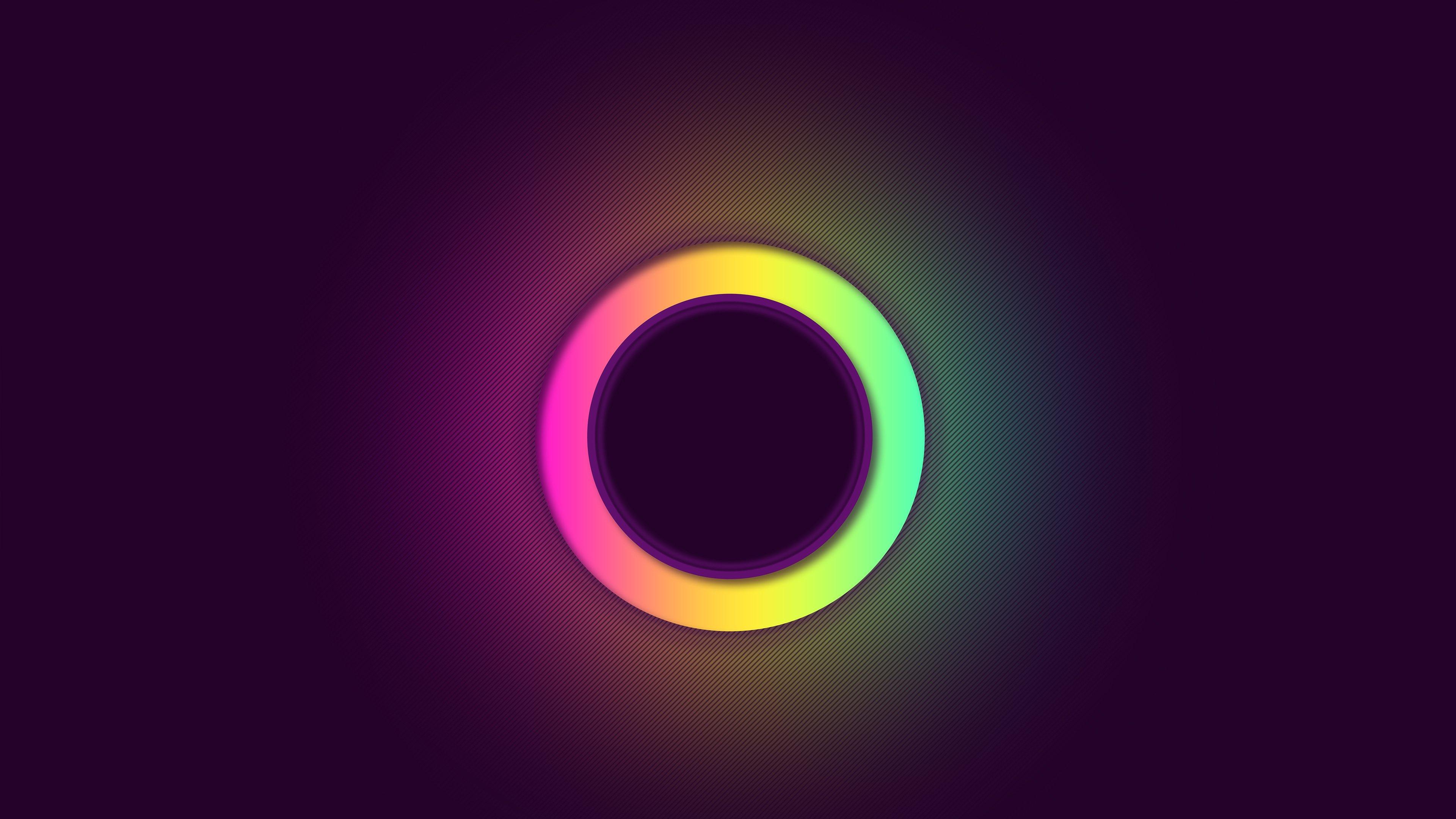 Wallpaper Ring of colors