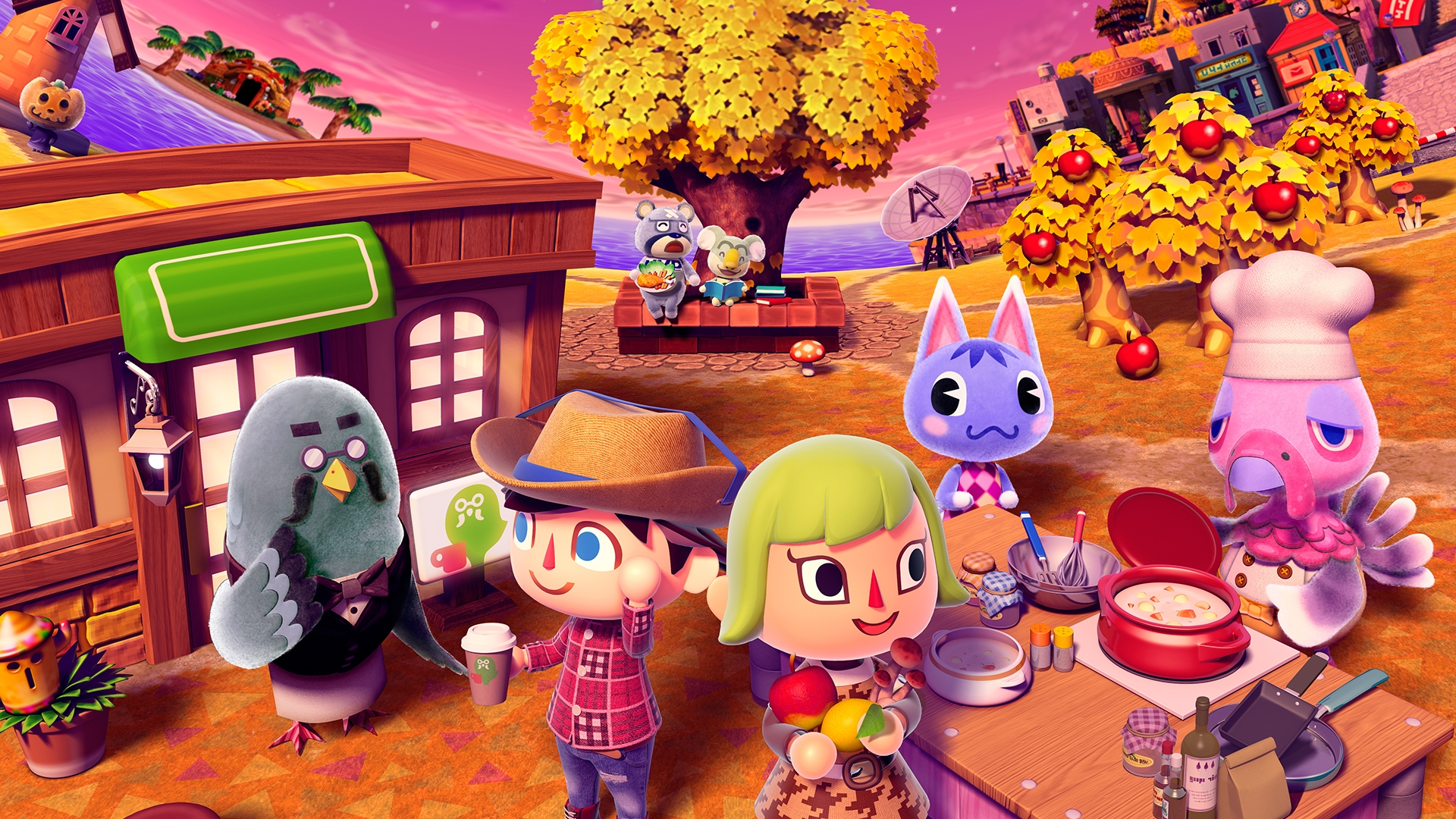 Fondos de pantalla Animal Crossing