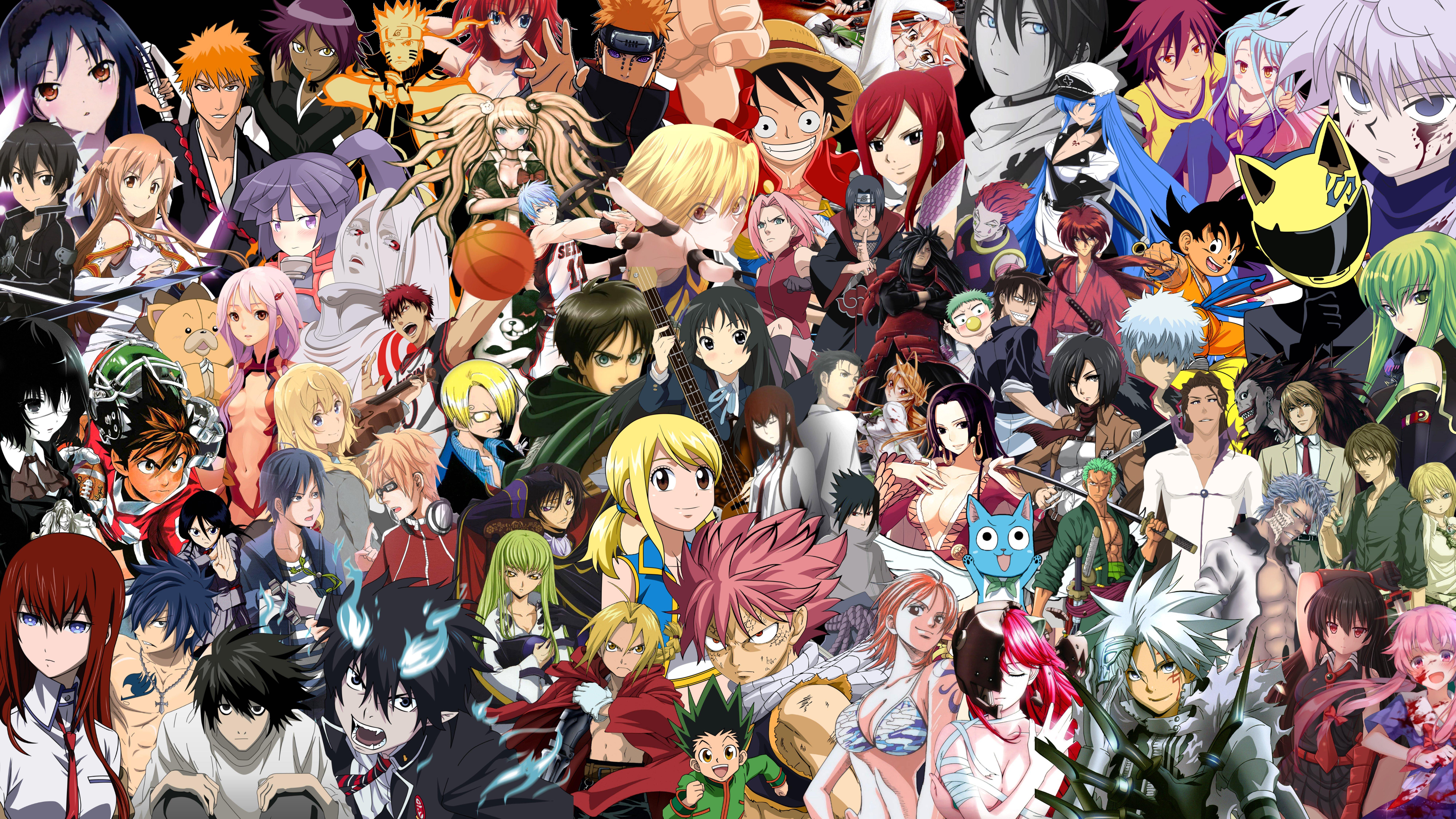 Fondos de pantalla Anime Mix