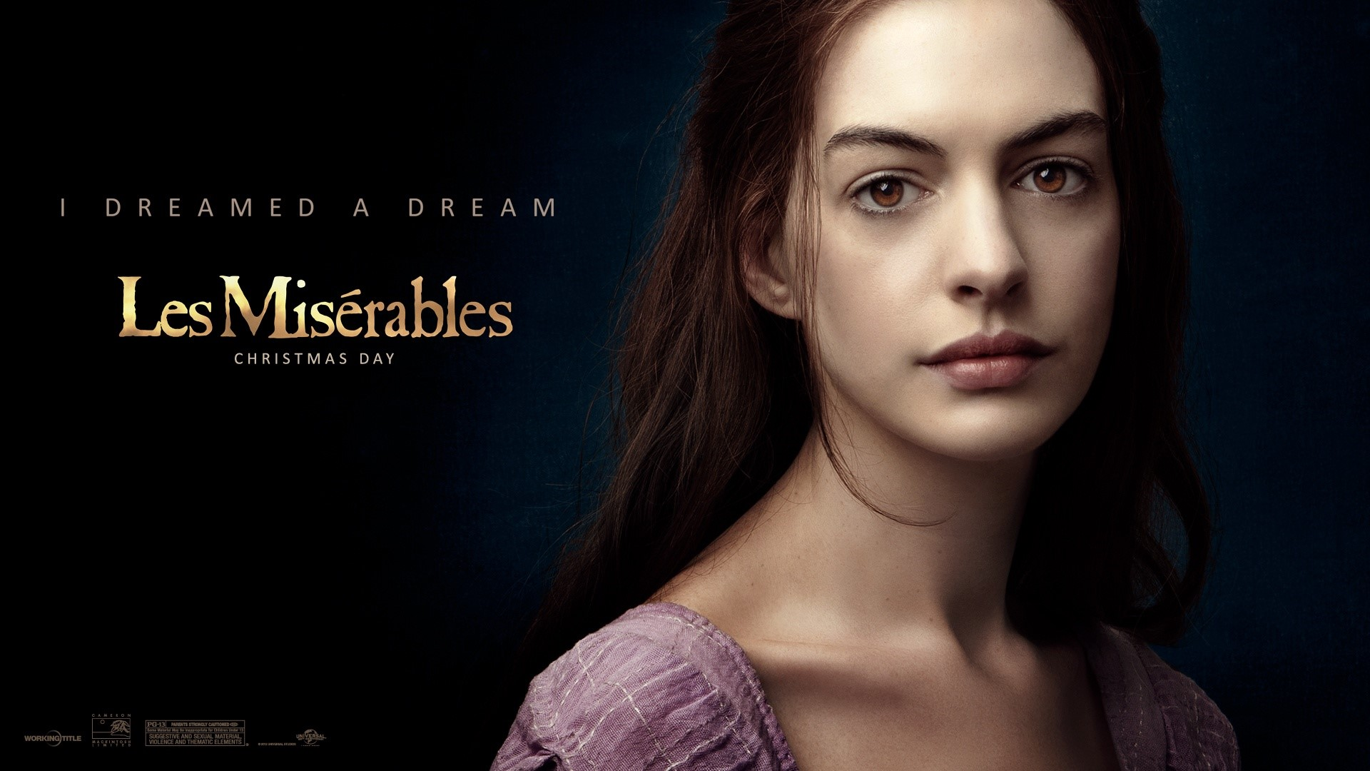Wallpaper Anne Hathaway en Les miserables Images