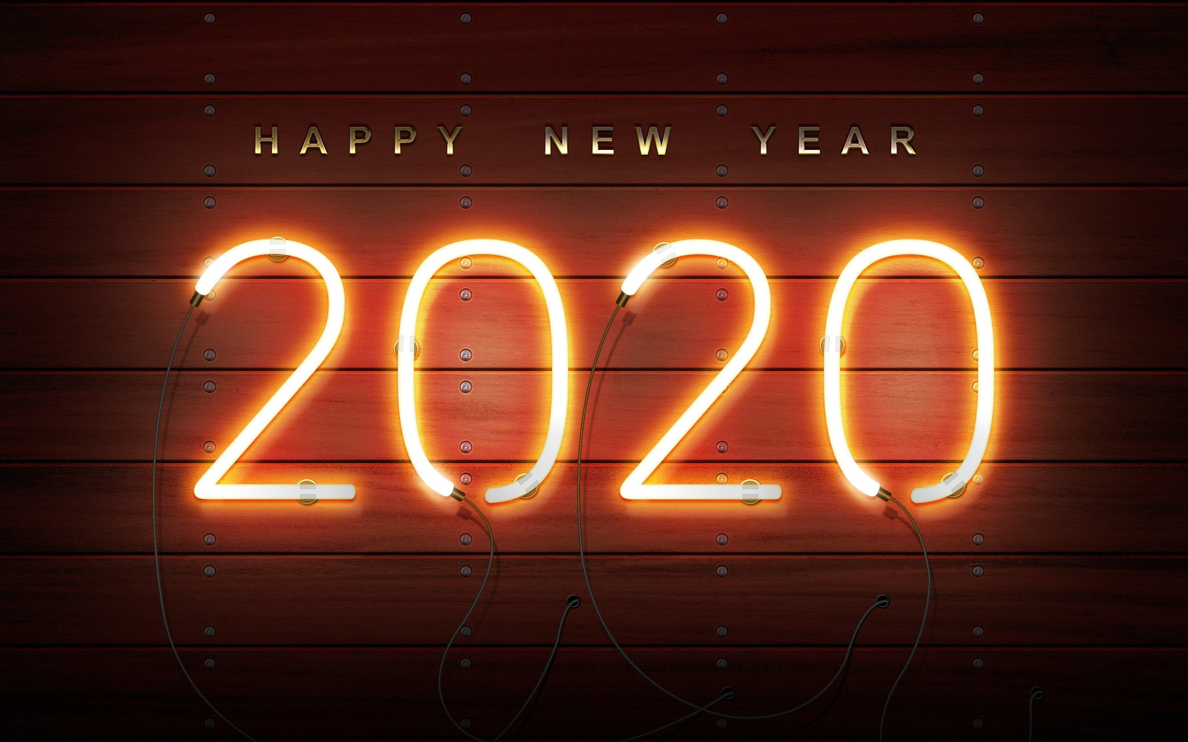 Fondos de pantalla Año nuevo 2020