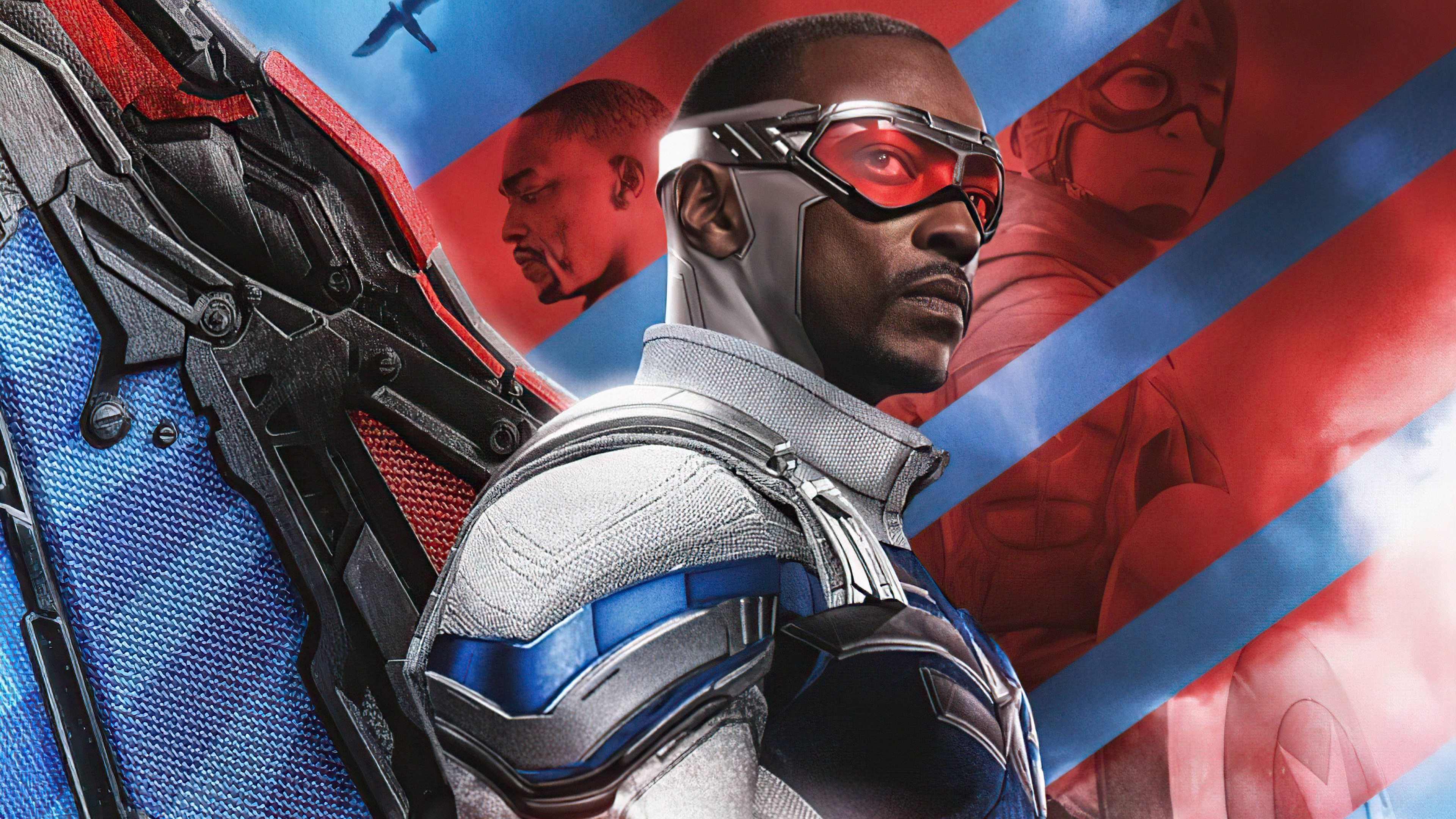 Wallpaper Anthony Macky Falcon and the Winter Soldier