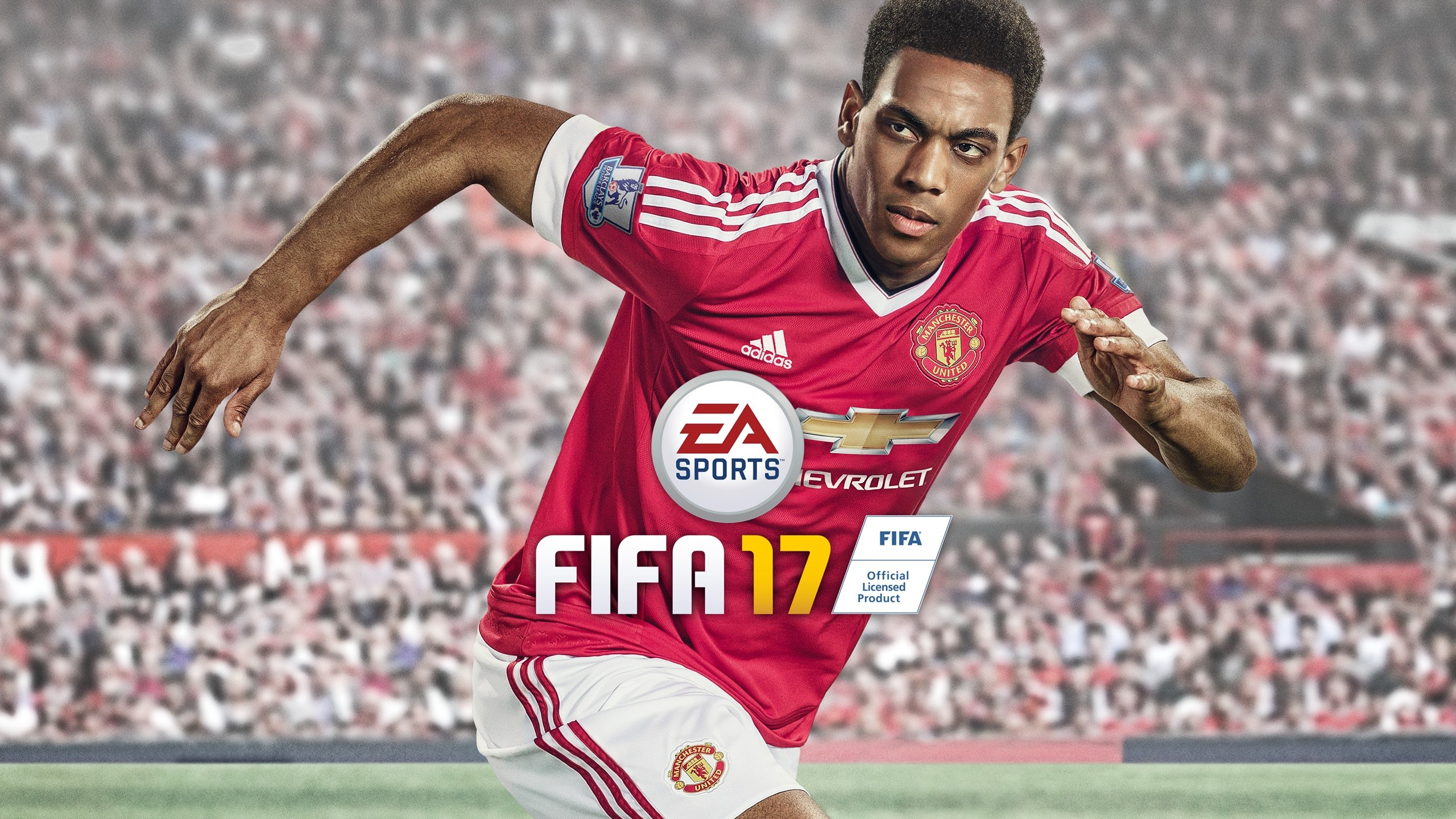 Wallpaper Anthony Martial in Fifa 17
