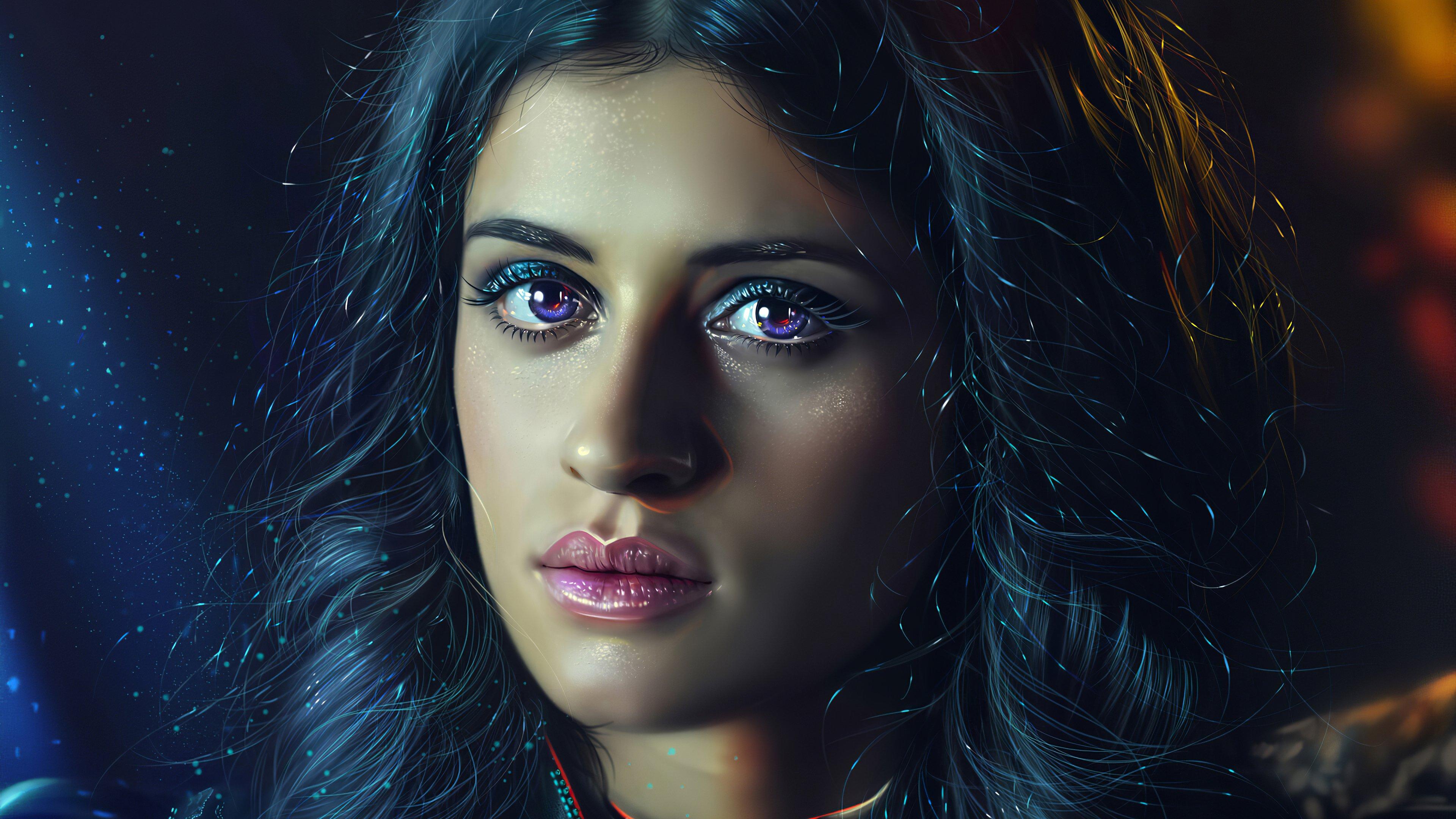 Fondos de pantalla Anya Chalotra como Yennefer en The witcher