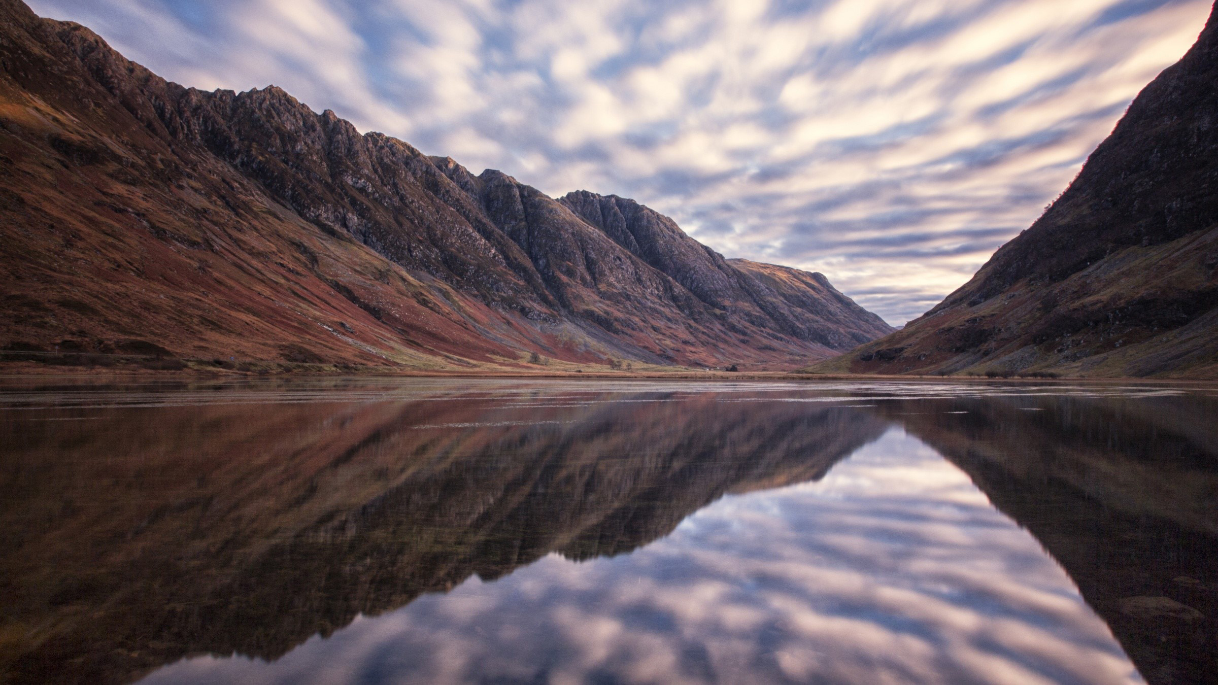 Wallpaper Aonach eagach in Scotland