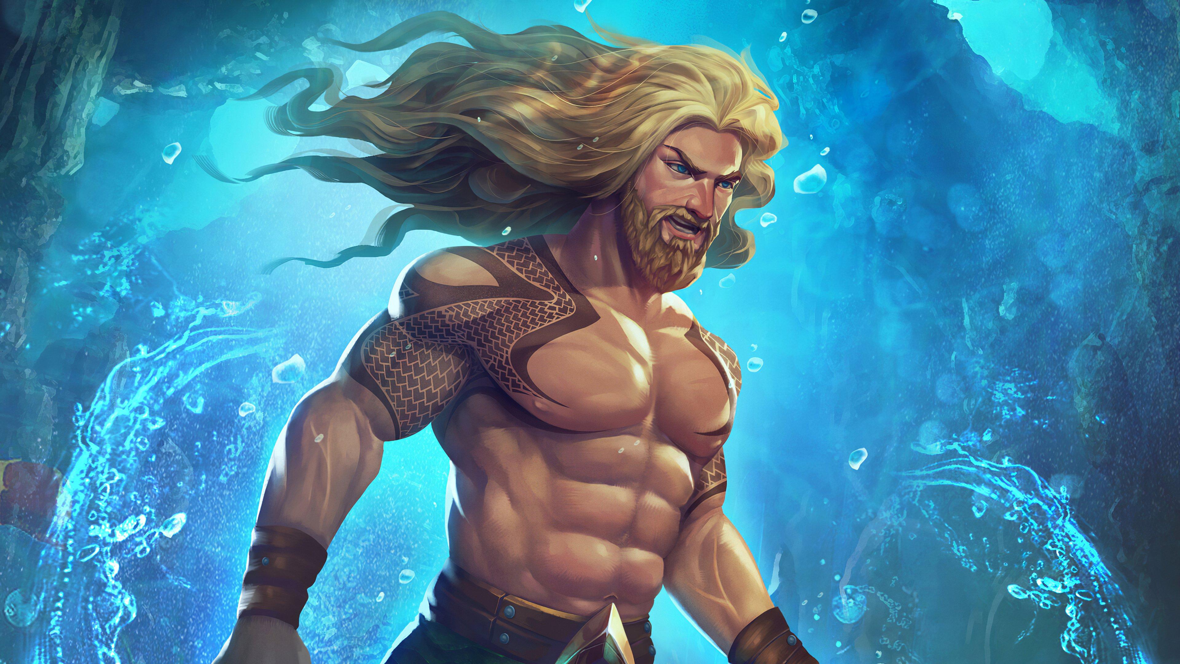 Fondos de pantalla Aquaman Fanart