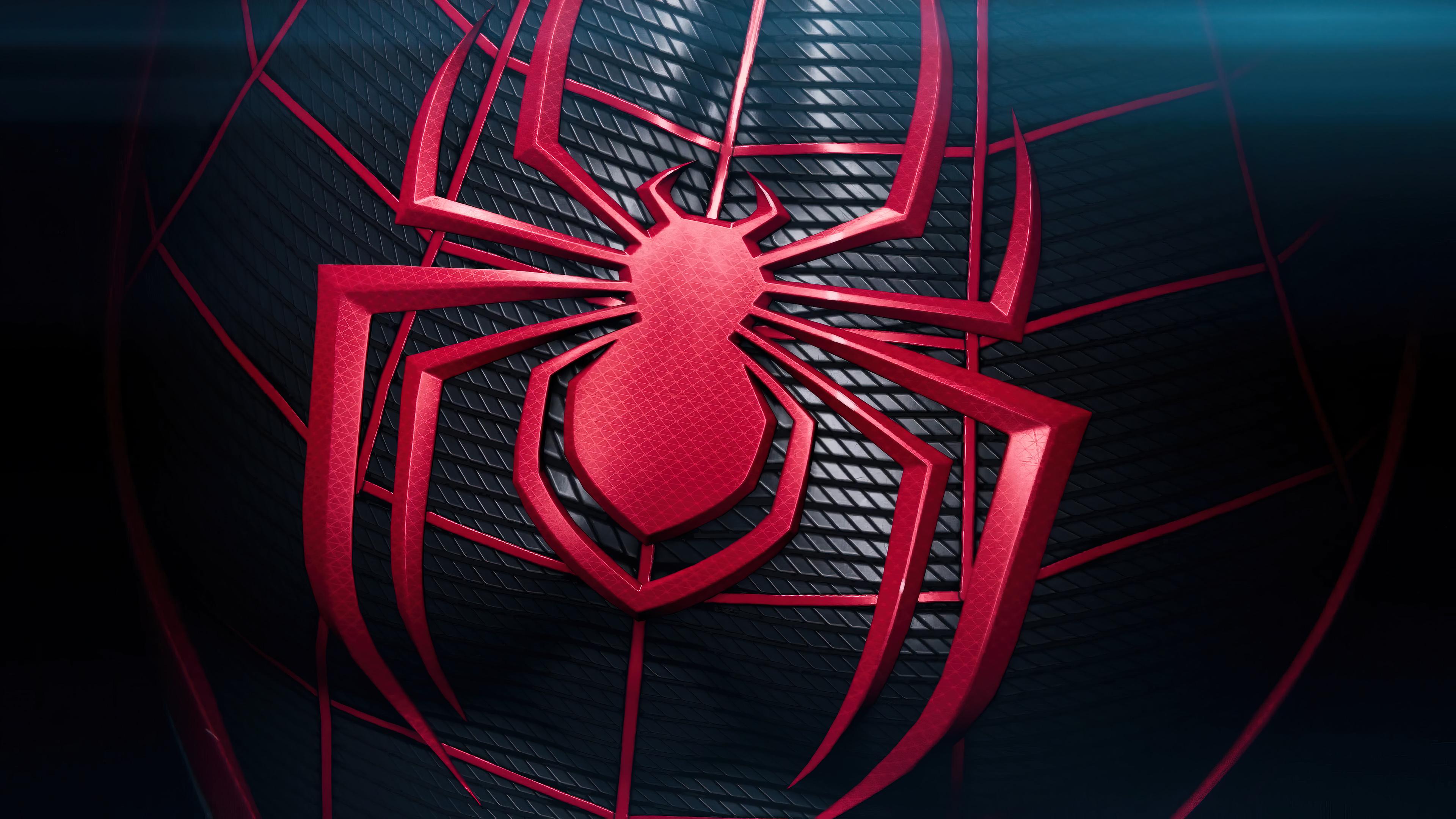 Wallpaper Spider on suit