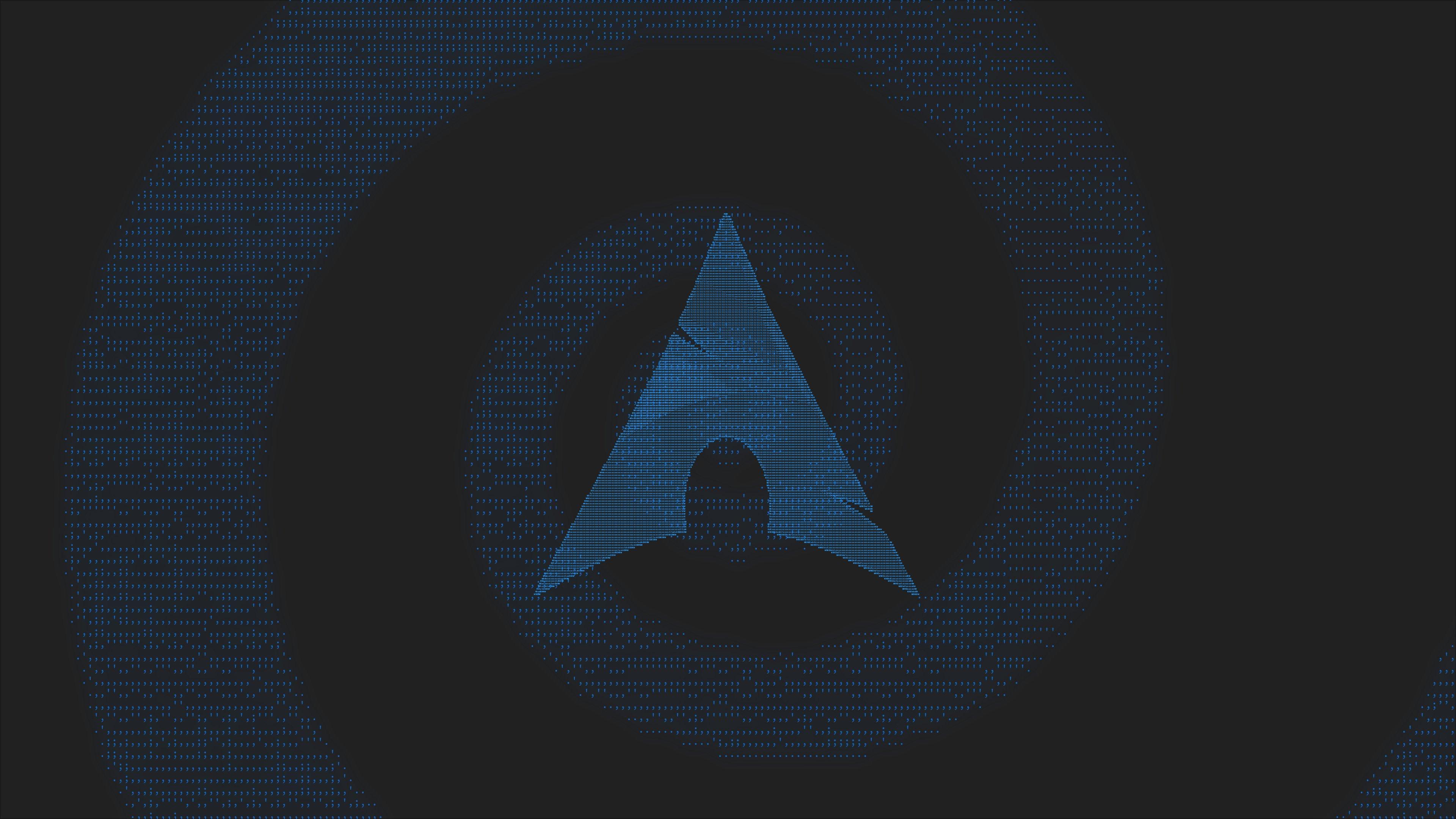 Fondos de pantalla Arch Linux Minimalism