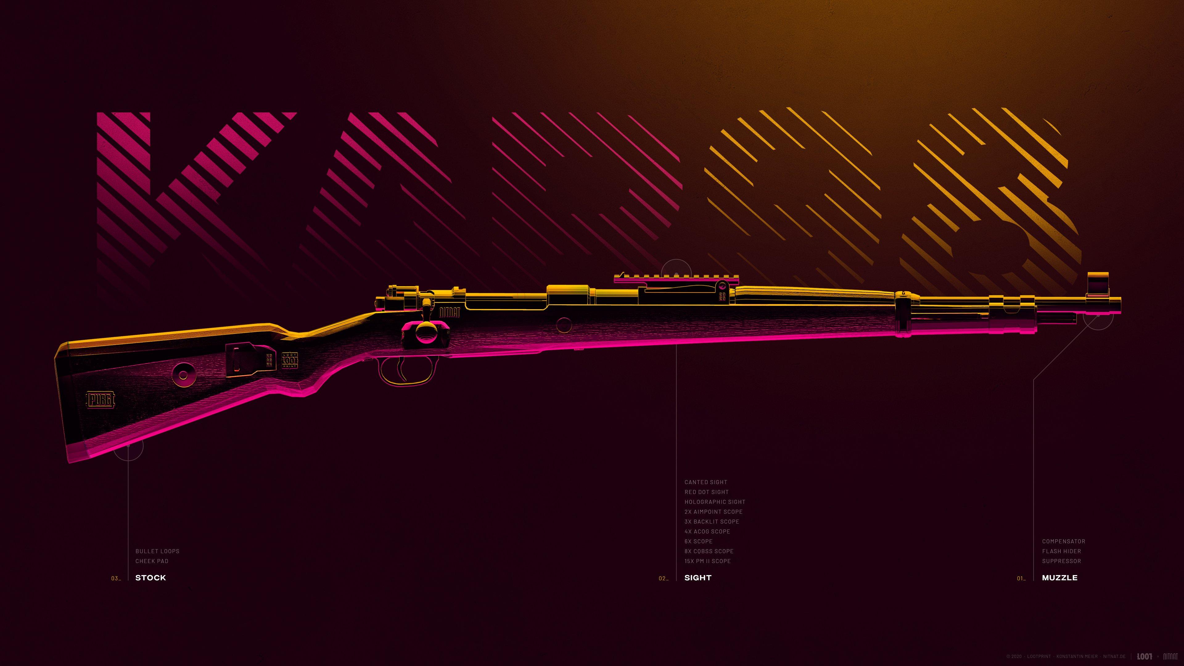 Fondos de pantalla Arma KAR98 de PUBG