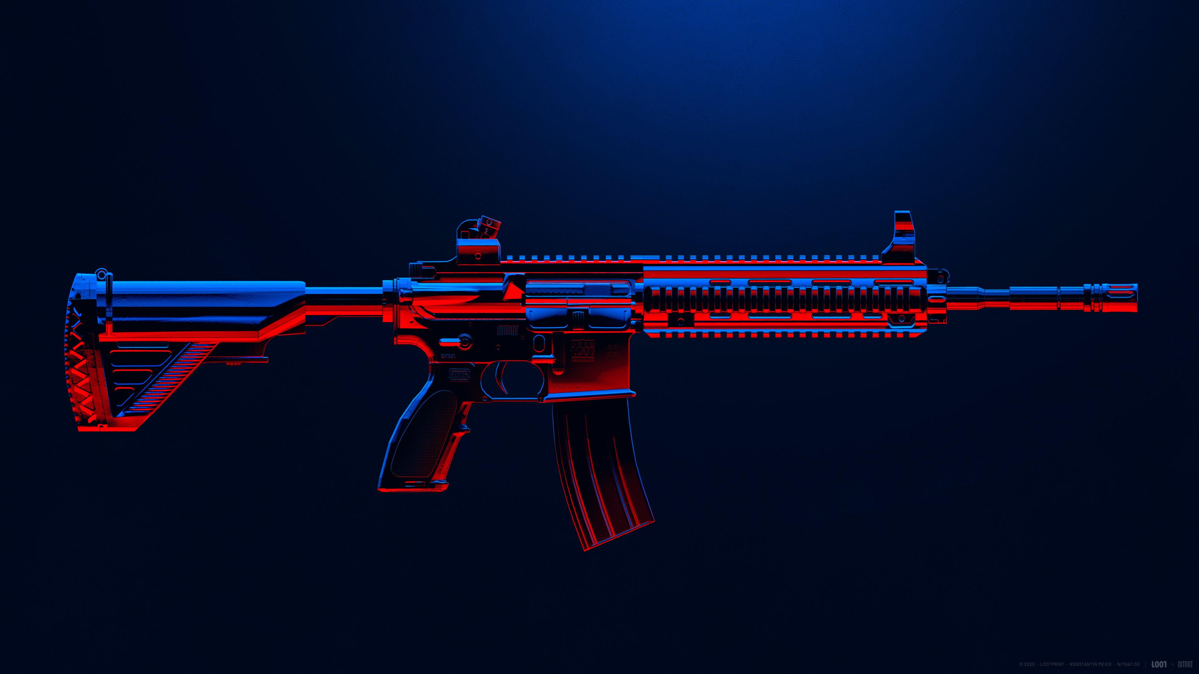 Fondos de pantalla Arma M416 de PUBG