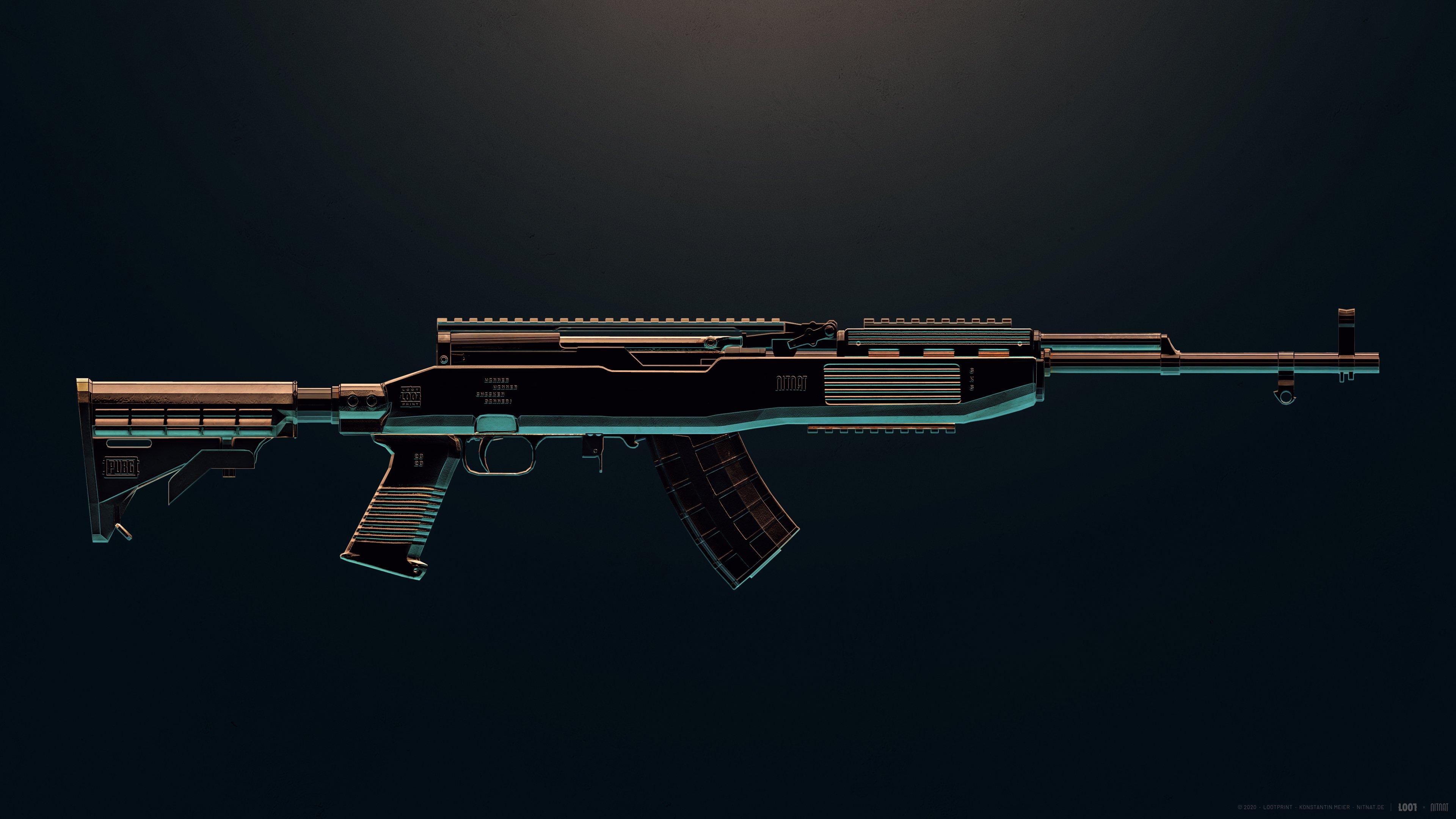 Fondos de pantalla Arma SKS de PUBG