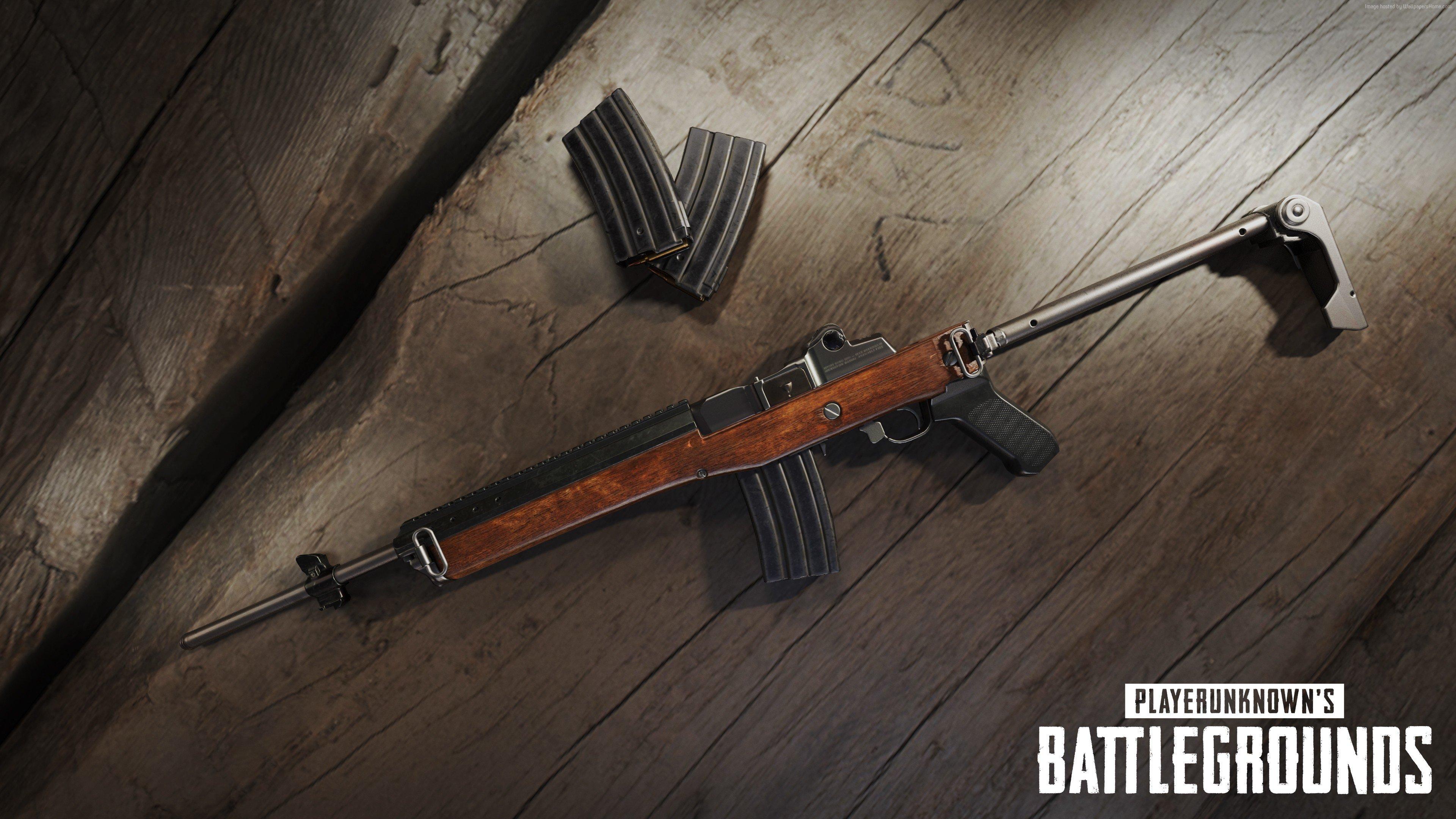 Wallpaper Weapons PlayerUnknown's Battlegrounds