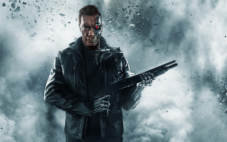 Fondo de pantalla de Arnold Schwarzenegger en Terminator Imágenes