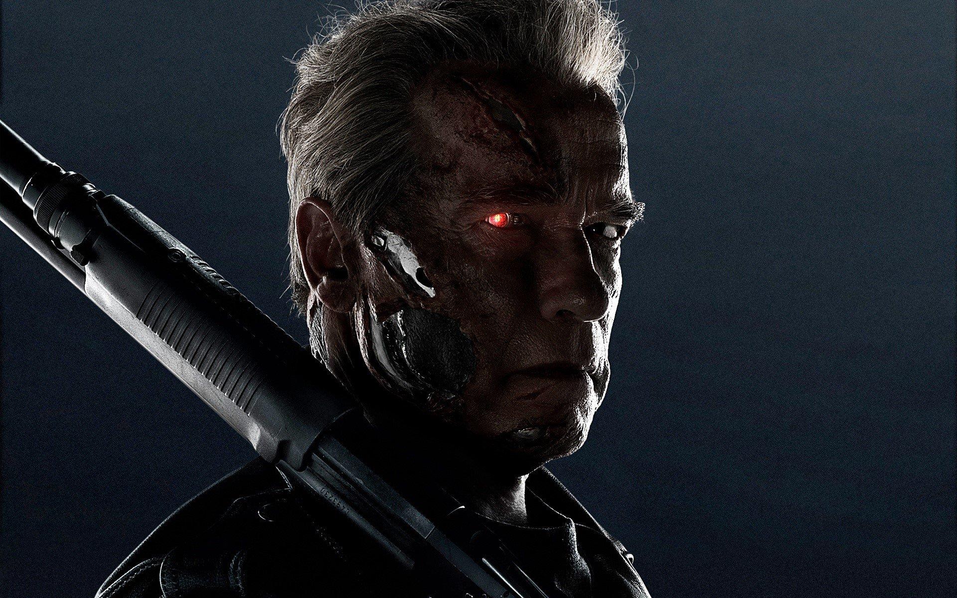 Fondos de pantalla Arnold T 800 en Terminator Genesis