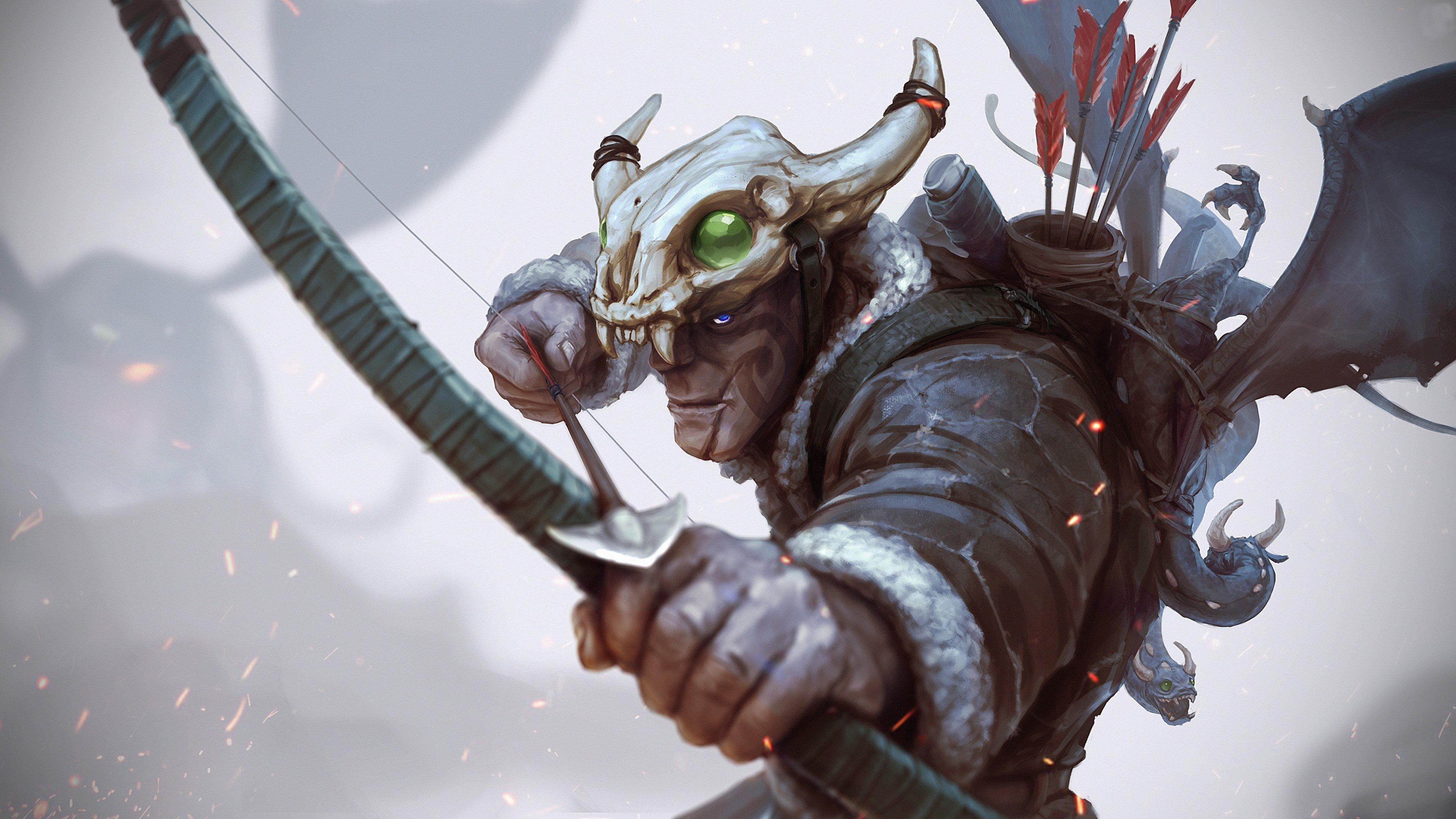 Fondo de pantalla de Arquero cazador Imágenes