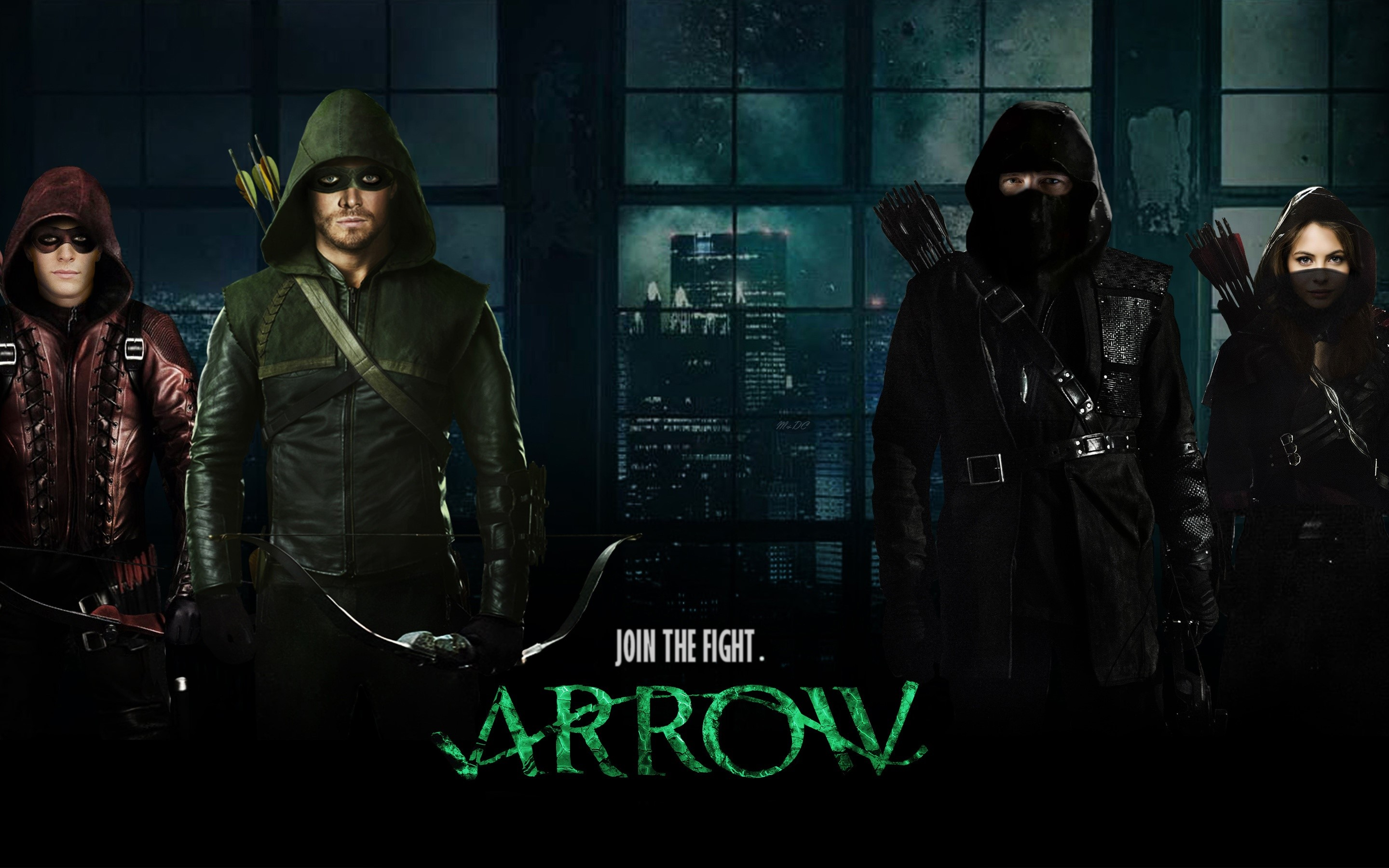 Wallpaper Arrow in Season 3