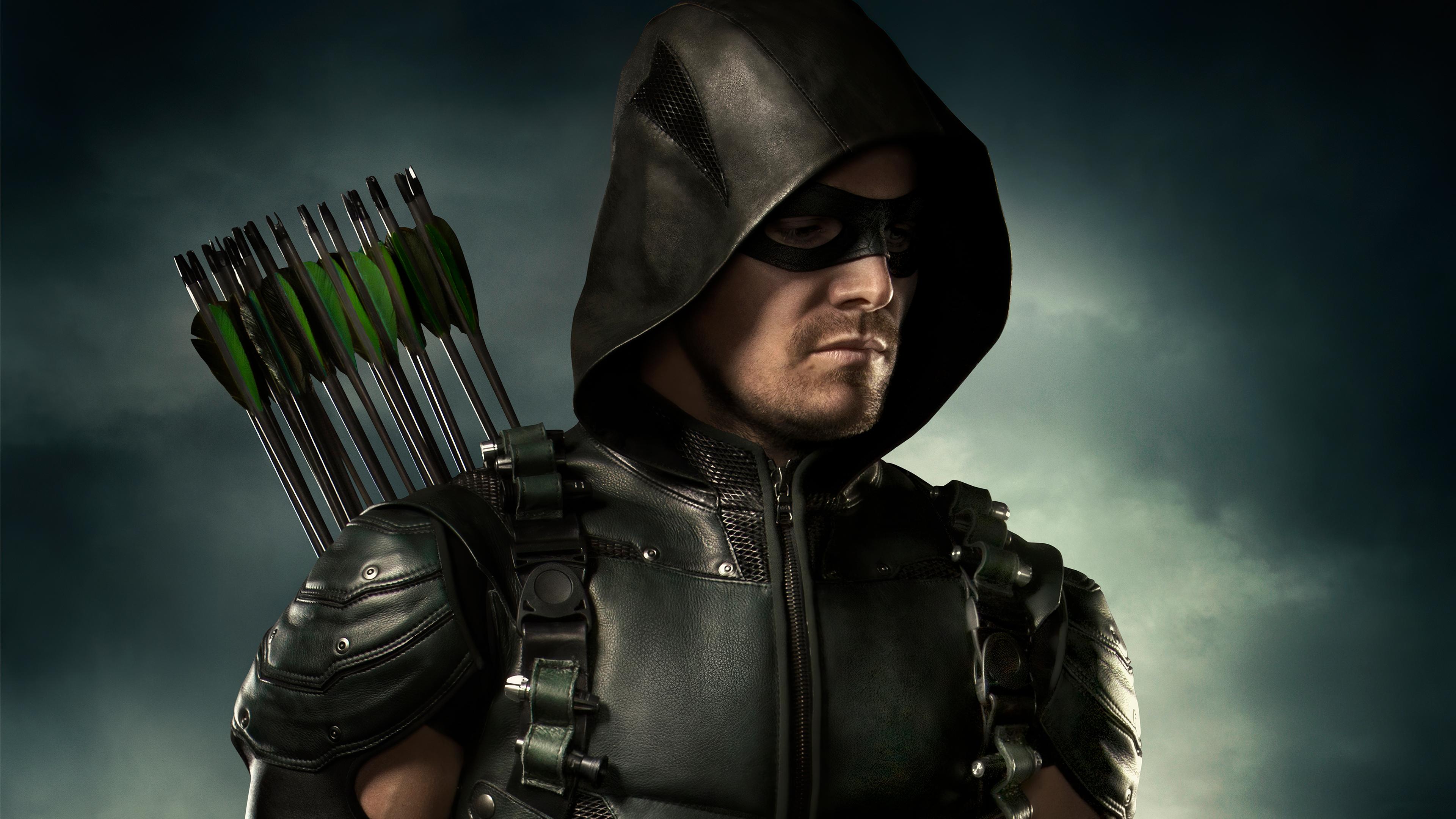 Wallpaper Arrow Season 8 poster