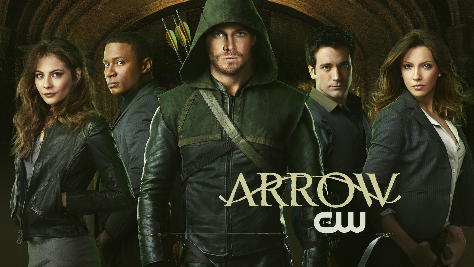 Wallpaper Arrow Serie de CW Images